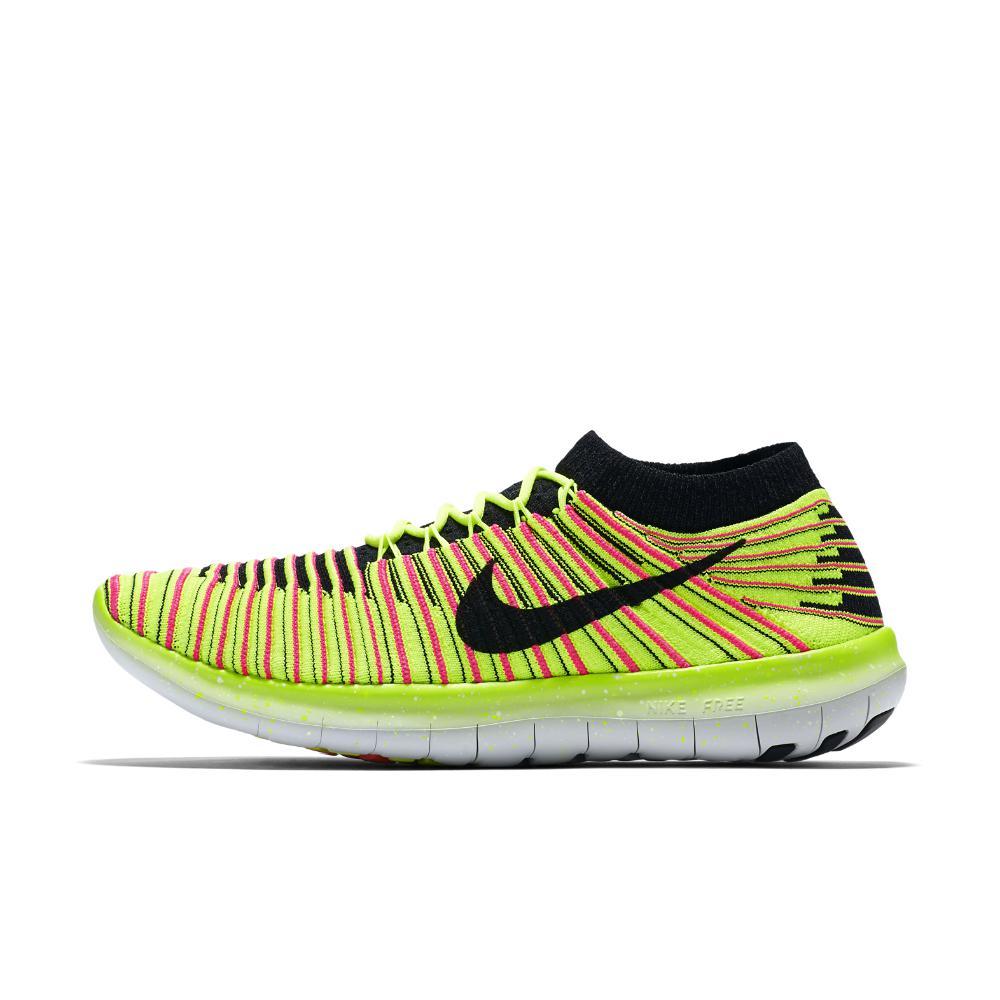 Lyst - Nike Free Rn Motion Flyknit Ultd Women s Running Shoe in Yellow bfba31cc4