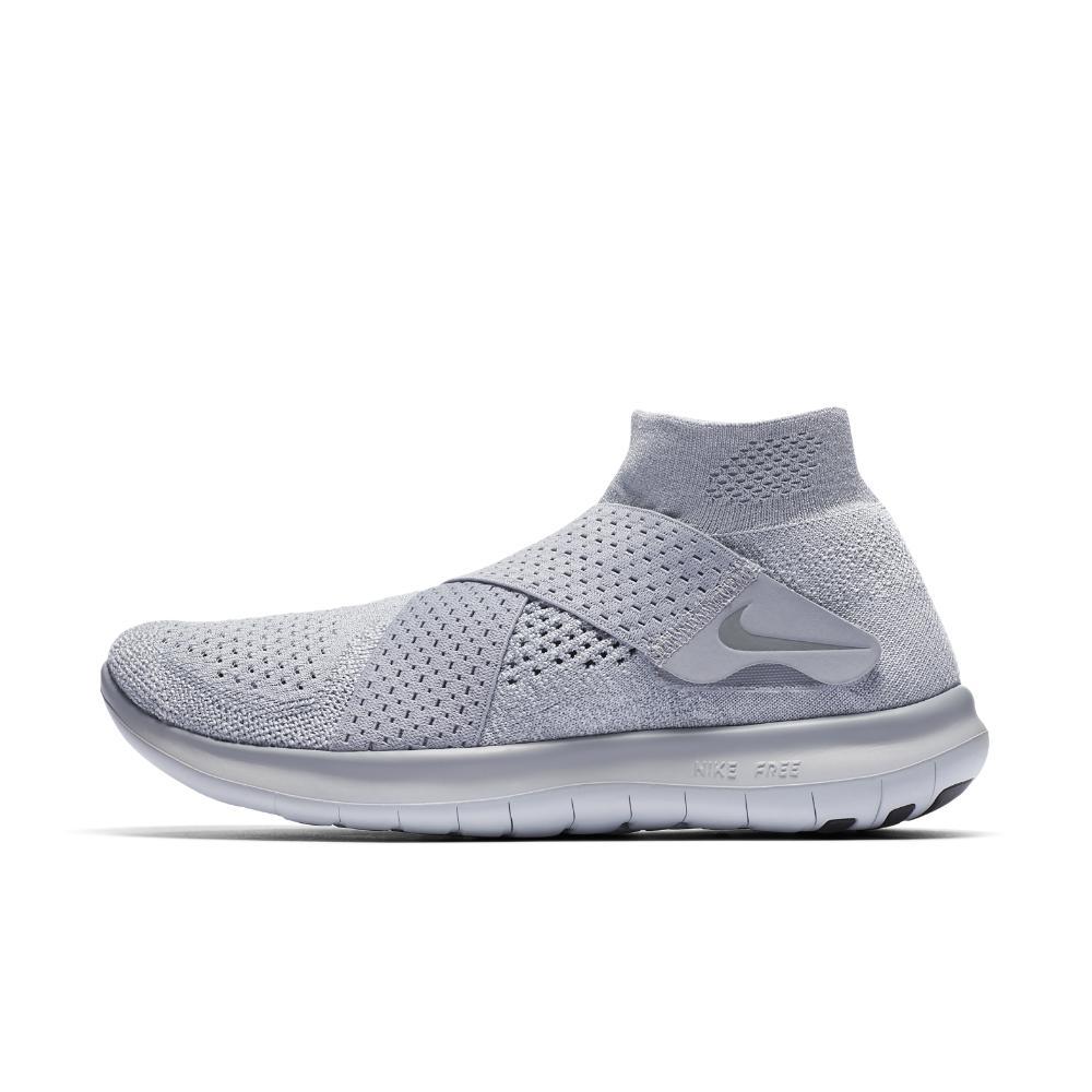 0d053174b7b4 Lyst - Nike Free Rn Motion Flyknit 2017 Women s Running Shoe in Gray