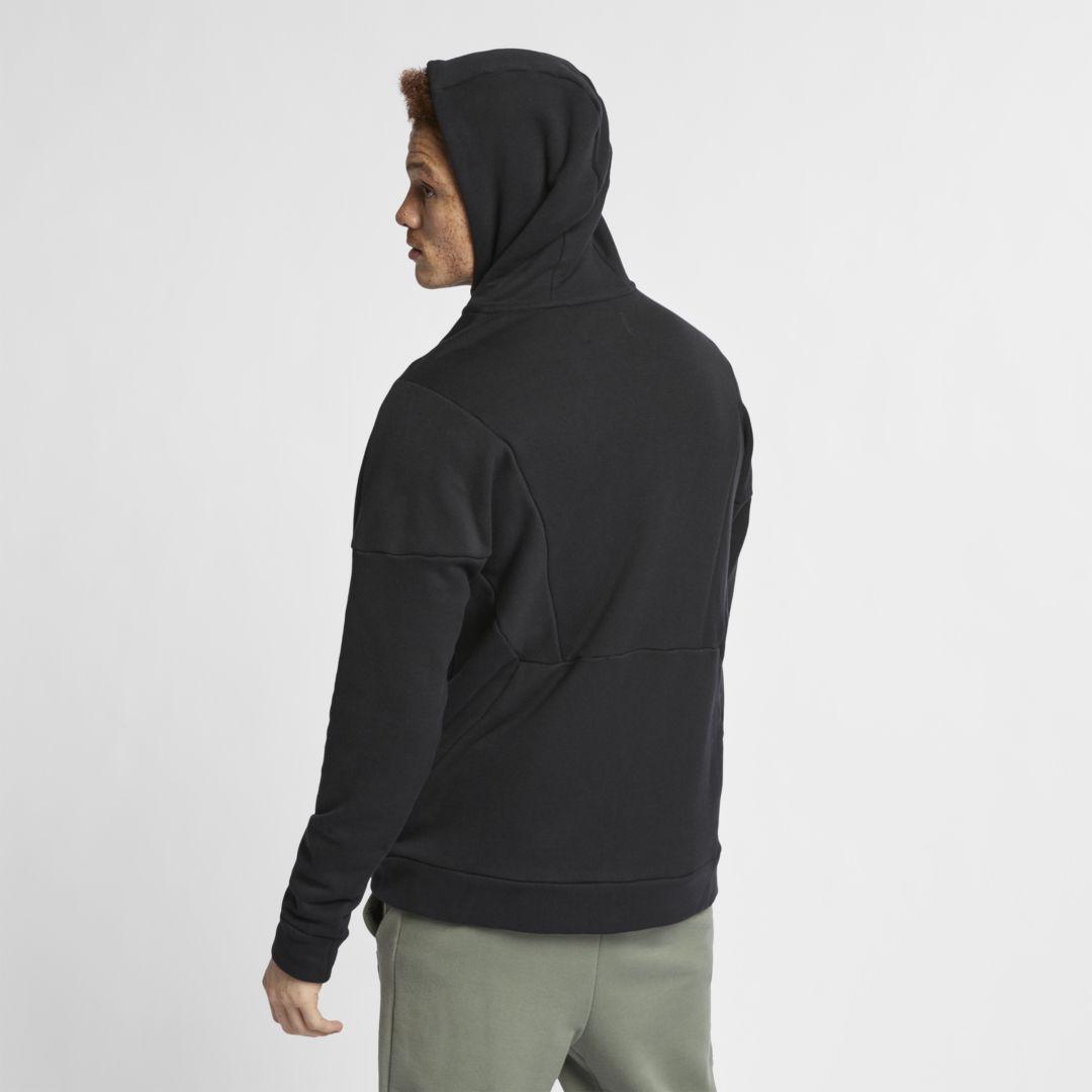 4acff62d92 Lyst - Nike Jordan Flight Loop Full-zip Hoodie in Black for Men