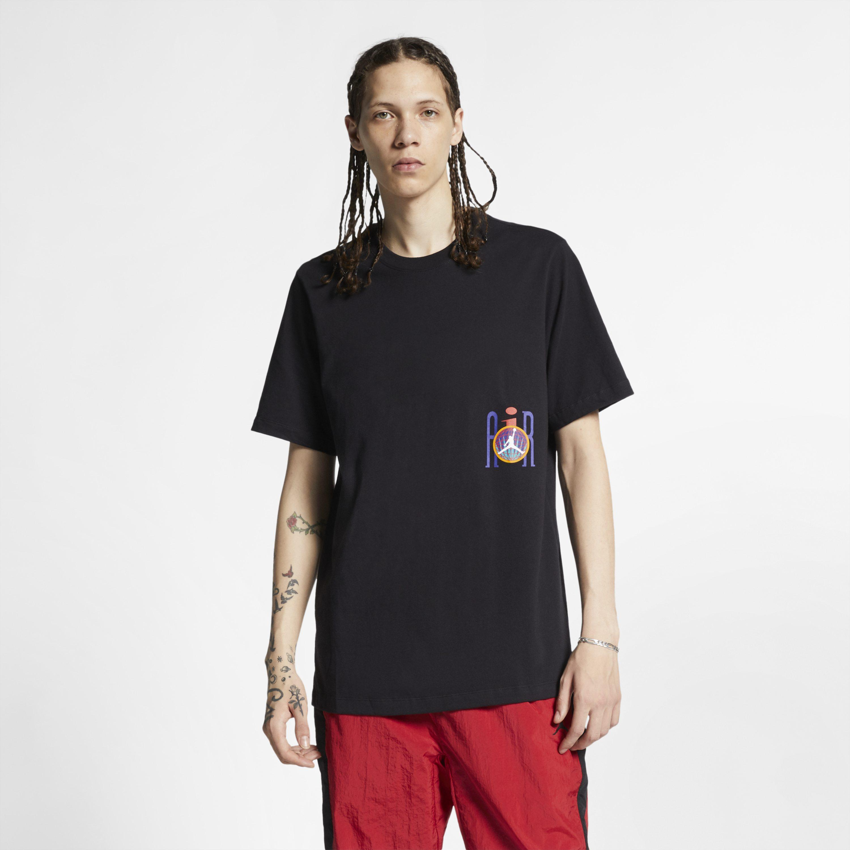 bc950aab5edfaa Nike Jordan Legacy Flight Nostalgia Aj 9 T-shirt in Black for Men - Lyst