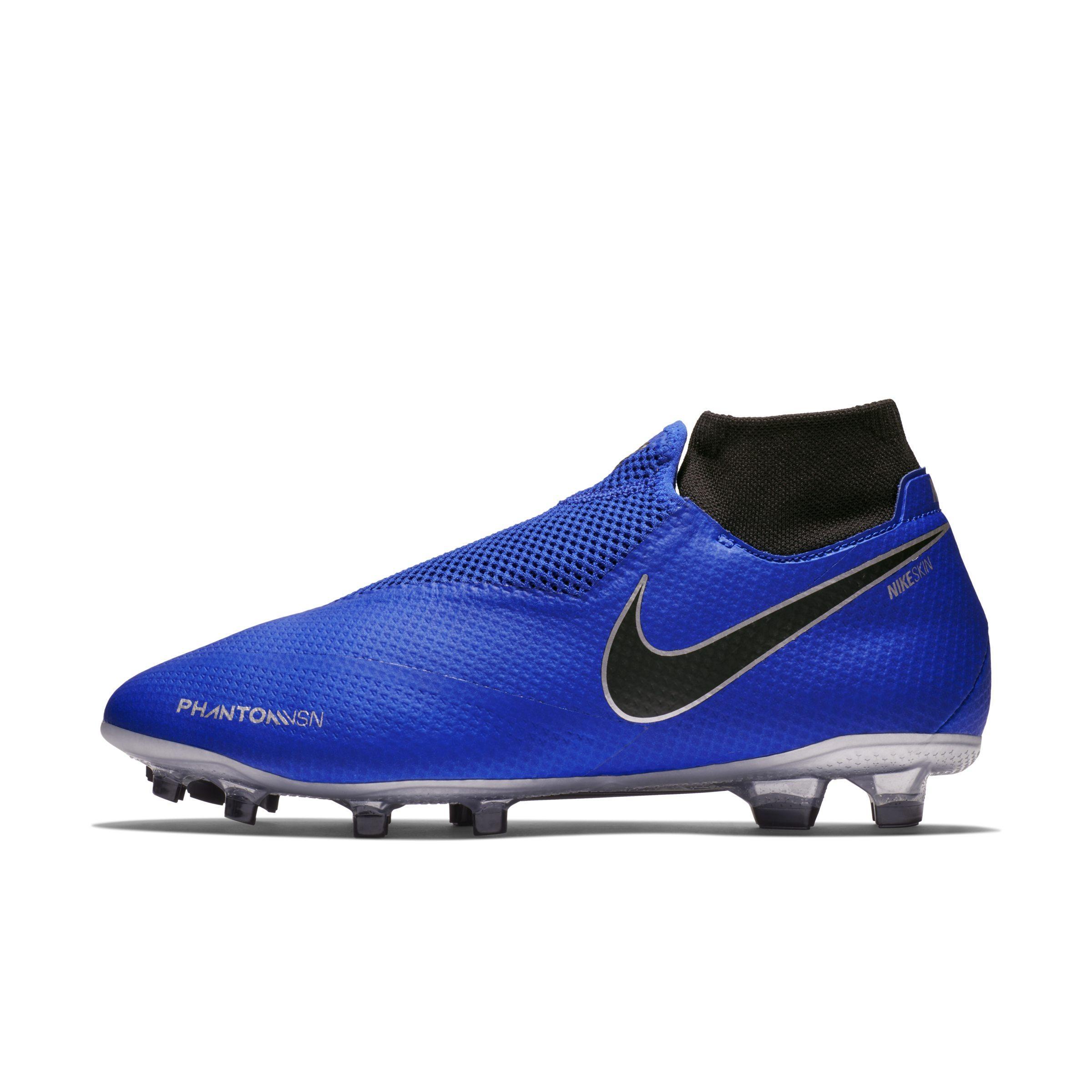 0d4af92faa7b Nike. Women's Blue Phantomvsn Pro Dynamic Fit Fg Firm-ground Football Boot
