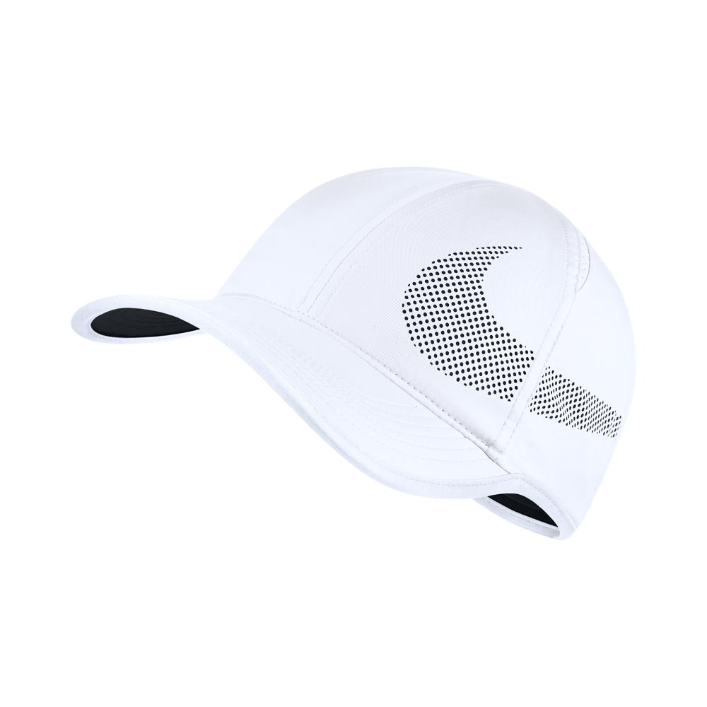 Lyst - Nike Court Aerobill Featherlight Adjustable Tennis Hat (white ... 8eef9cd2b93b