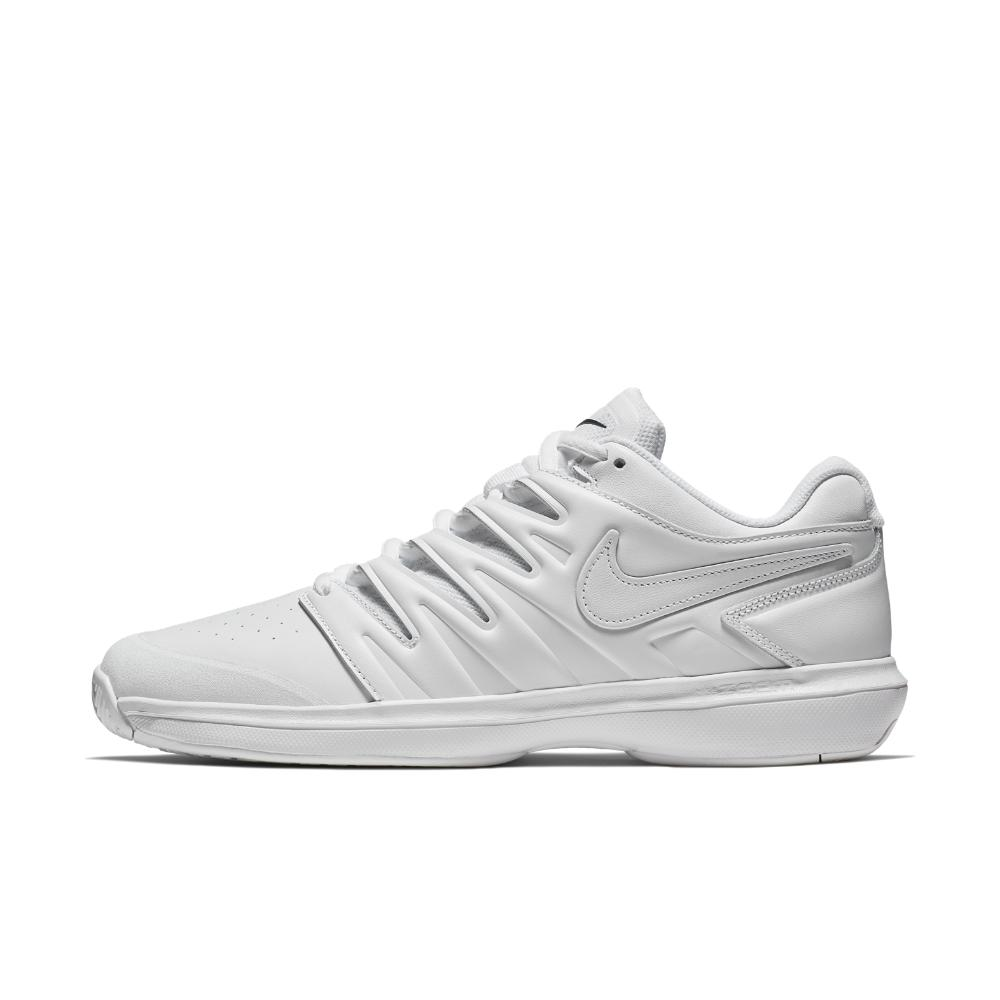 Lyst - Nike Air Zoom Prestige Leather Hc Men s Tennis Shoe in White ... e7fdb98ac