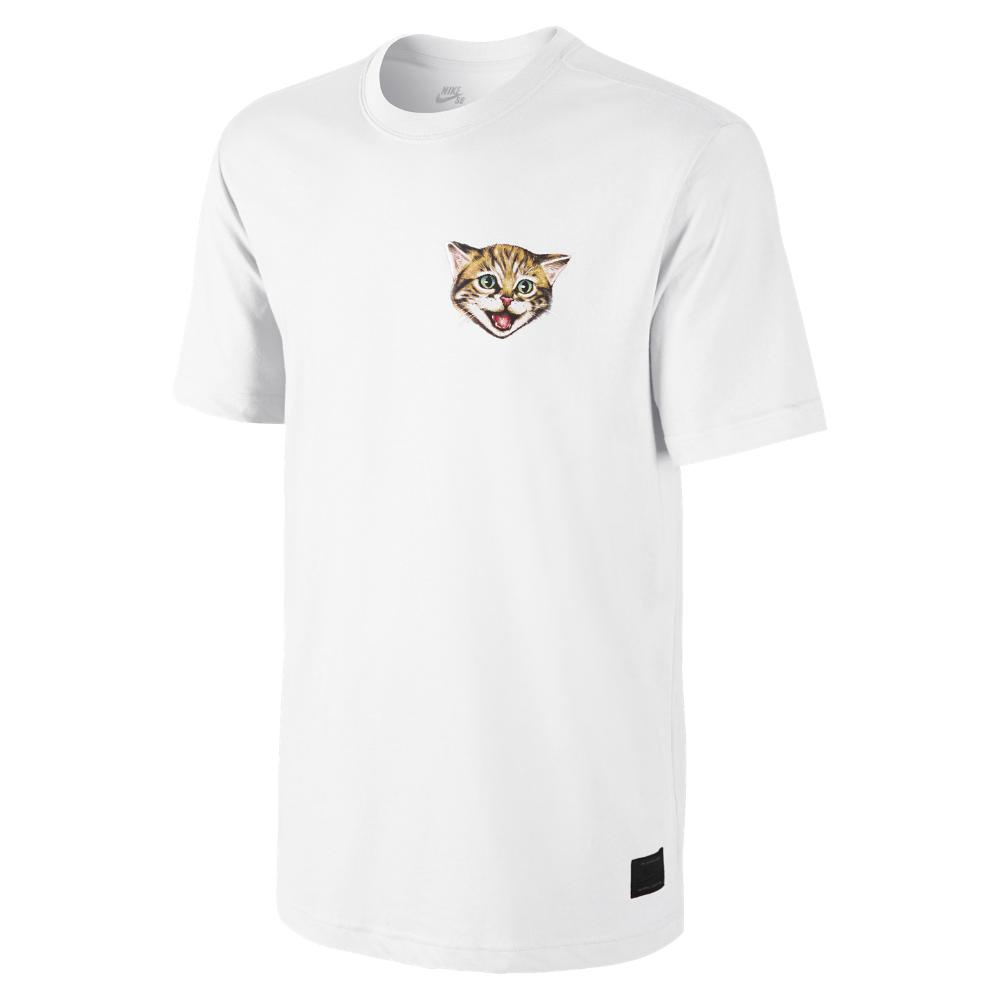 Lyst - Nike Sb Cat Scratch 15 Men s T-shirt in White for Men 6e440fc4e17
