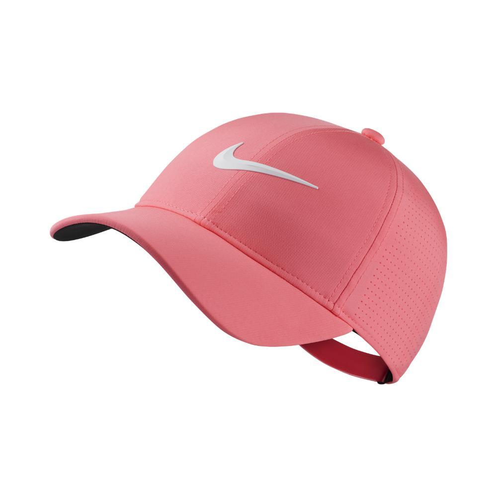 d7d419ada0b Lyst - Nike Aerobill Legacy 91 Adjustable Golf Hat (pink ...