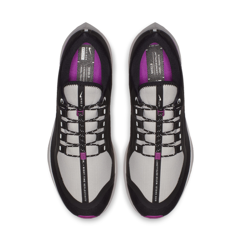 19d4cbeb25f3c Nike Air Zoom Pegasus 35 Shield Nrg Water-repellent Running Shoe in Black  for Men - Lyst