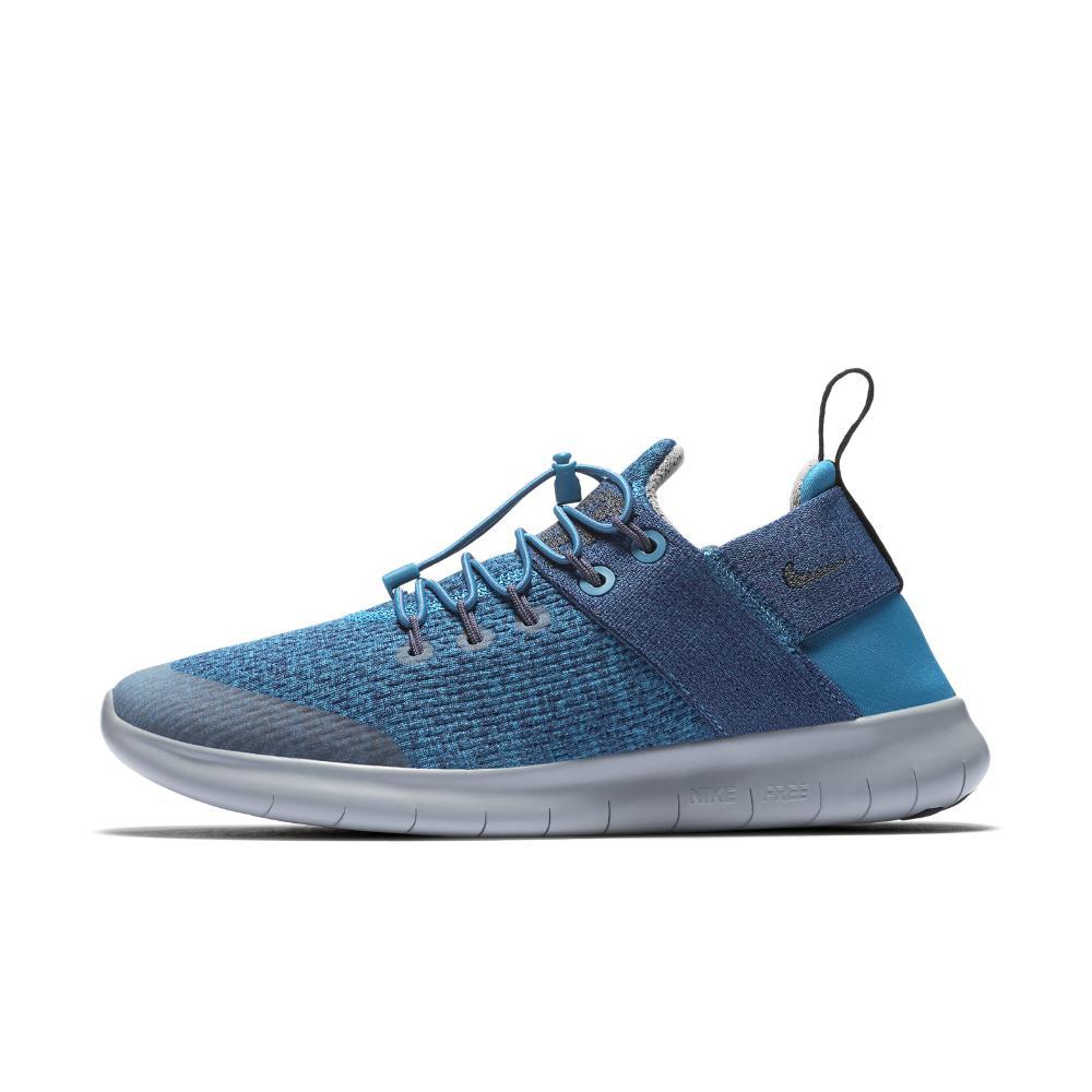 Nike. Blue Free Rn Commuter 2017 Premium Women's Running Shoe