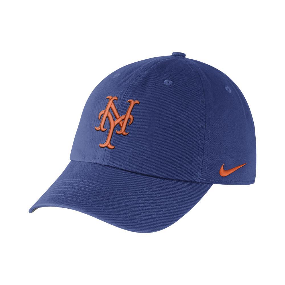 0951dd2bfb2 Lyst - Nike Heritage 86 Stadium (mlb Mets) Adjustable Hat (blue) in ...