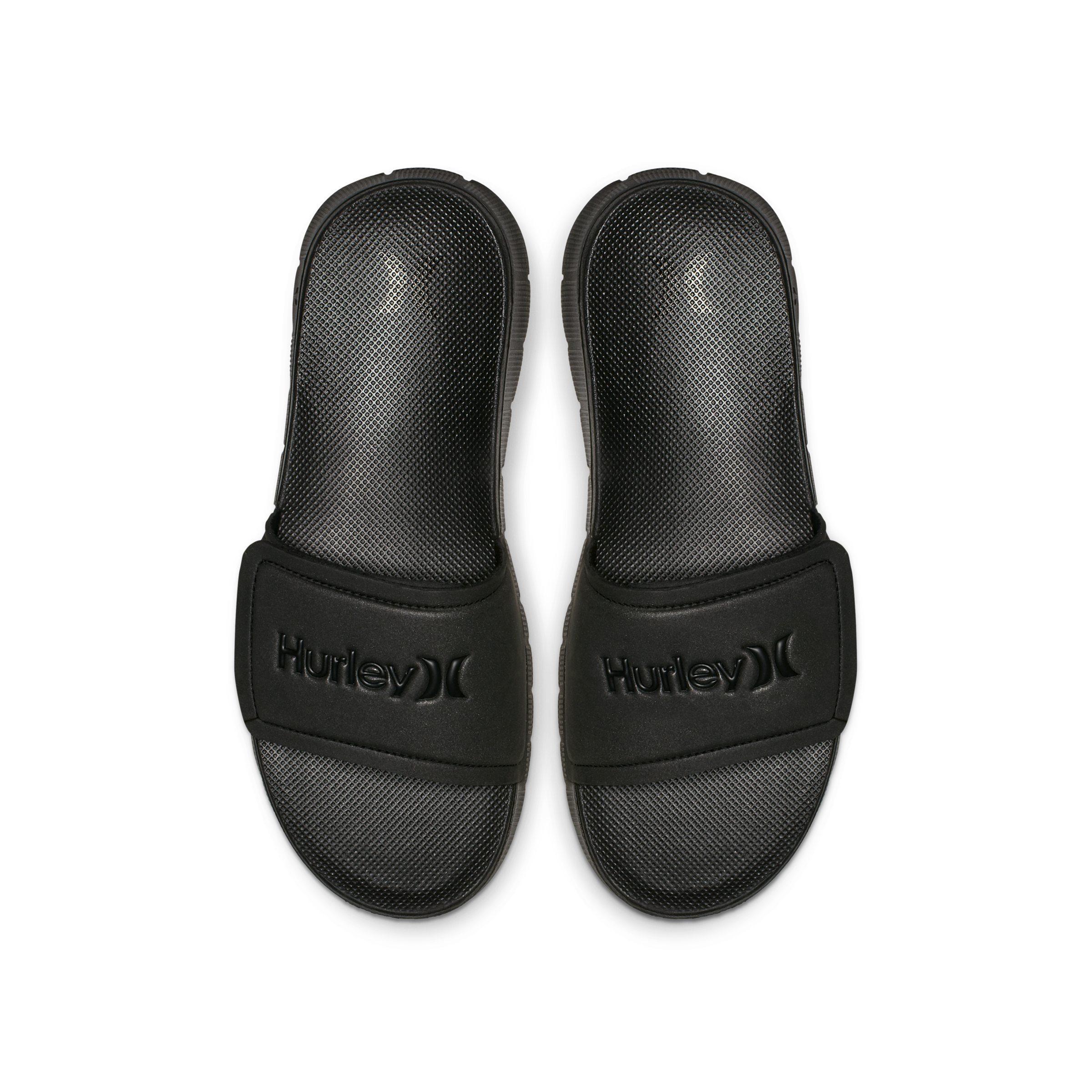 74d9cb825c7 Lyst - Hurley Fusion Slide Sandalias Nike de hombre de color Negro