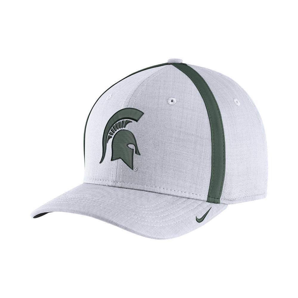 Nike. Men s College Aerobill Sideline Coaches (michigan State) Adjustable  Hat ... dec7e1f37510