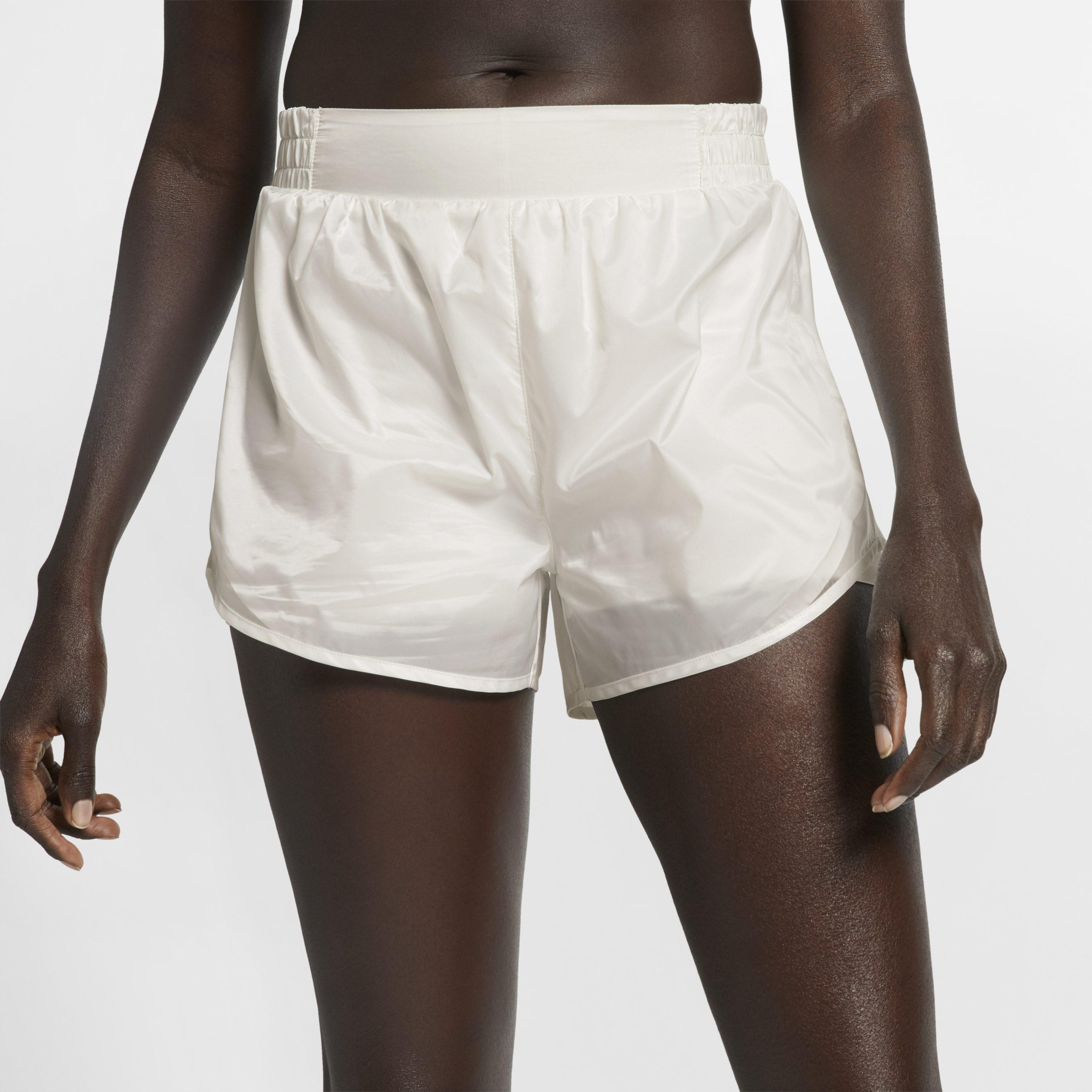 3cc41c44b302 Nike Tempo Tech Pack Running Shorts in White - Lyst