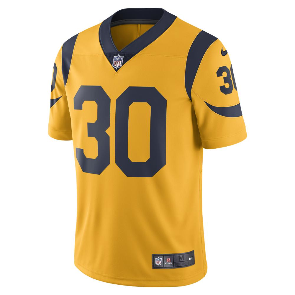 Lyst - Nike Nfl Los Angeles Rams Color Rush Limited (todd Gurley ... c6fd3160d