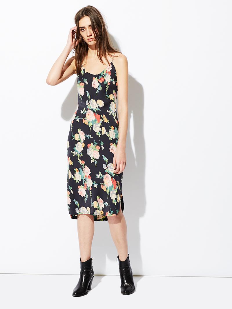 0d4acf9b2cb6 Lyst - Nili Lotan Short Silk Cami Slip Dress (final Sale) in Black