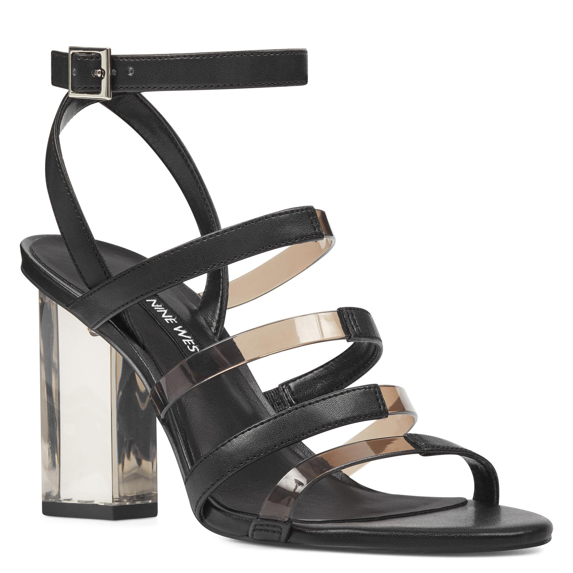 Nine West Fazzani Lucite Sandals FlMlzyGzYZ