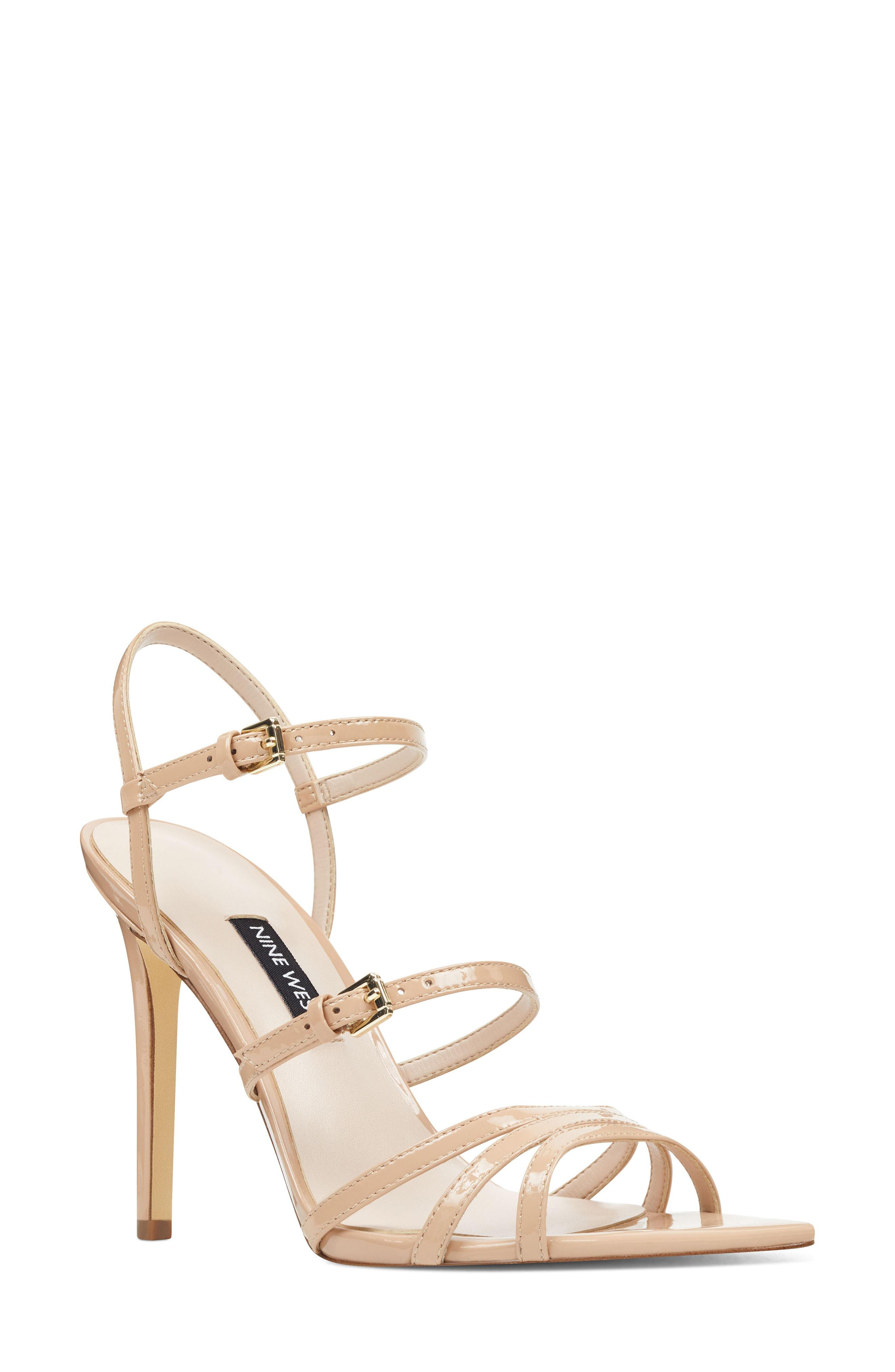 d055d2629289 Lyst - Nine West Gilficco Strappy Sandal in Yellow - Save 56%