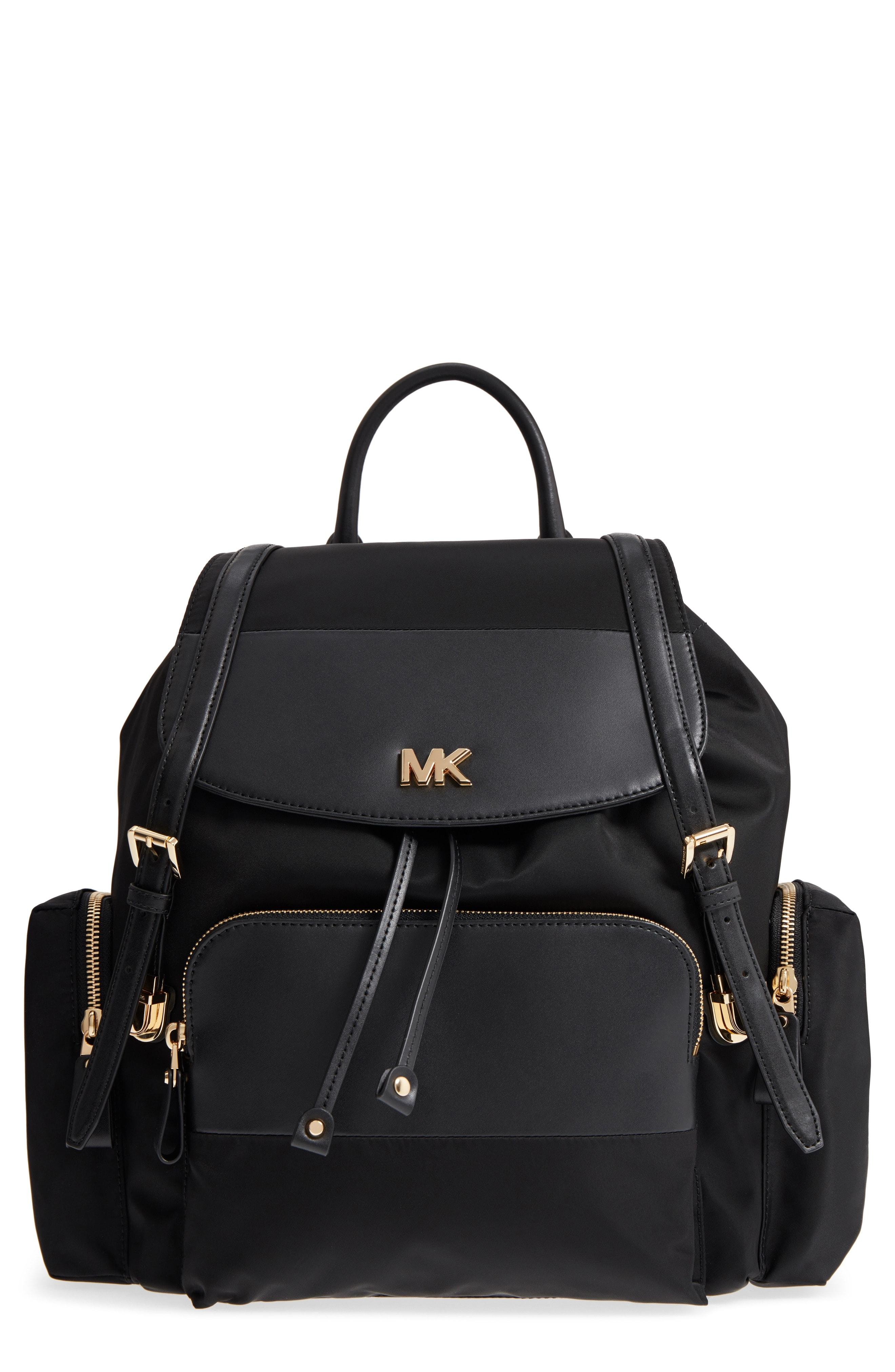 ad321bc920e5 Lyst - MICHAEL Michael Kors Large Nylon Diaper Backpack - in Black