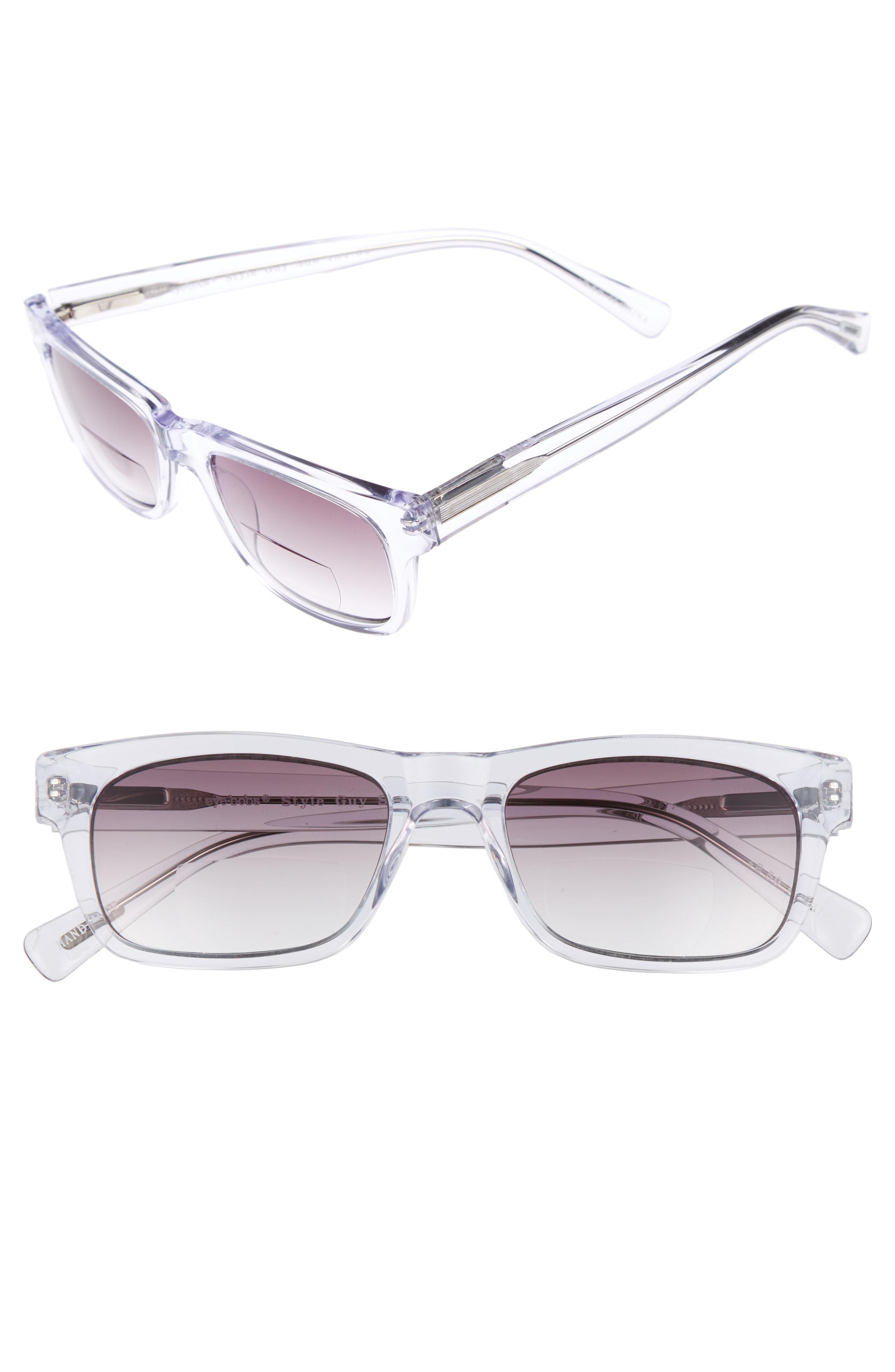 48e633e38c3 Lyst - Eyebobs Style Guy Sun Reader 52mm Reading Sunglasses - Clear ...
