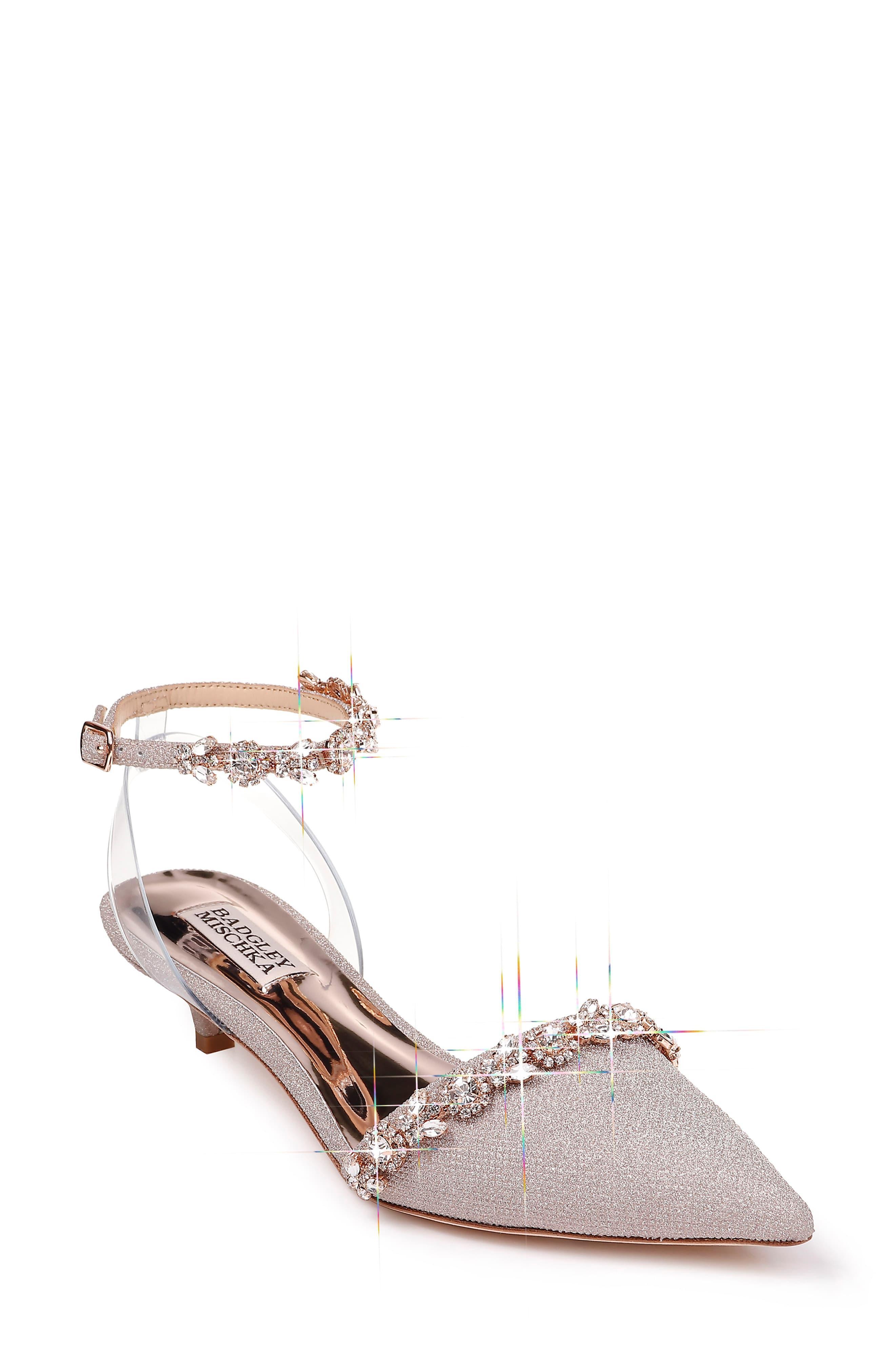a7a4e28c7c Badgley Mischka Badgley Mischka Addison Crystal Embellished Ankle ...