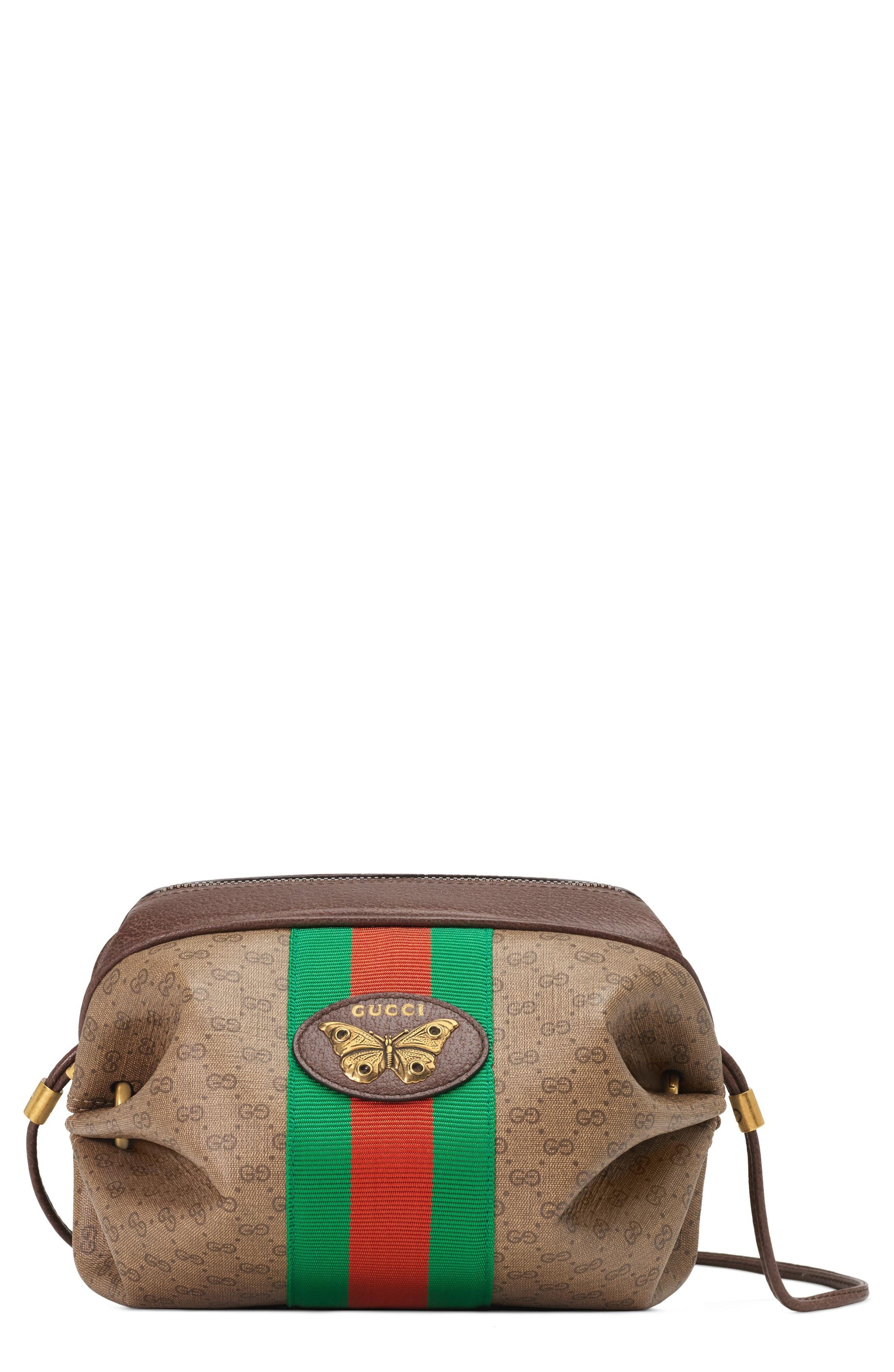 6622afda85821 Gucci - Natural New Candy Gg Supreme Canvas Mini Crossbody Bag - Lyst. View  fullscreen
