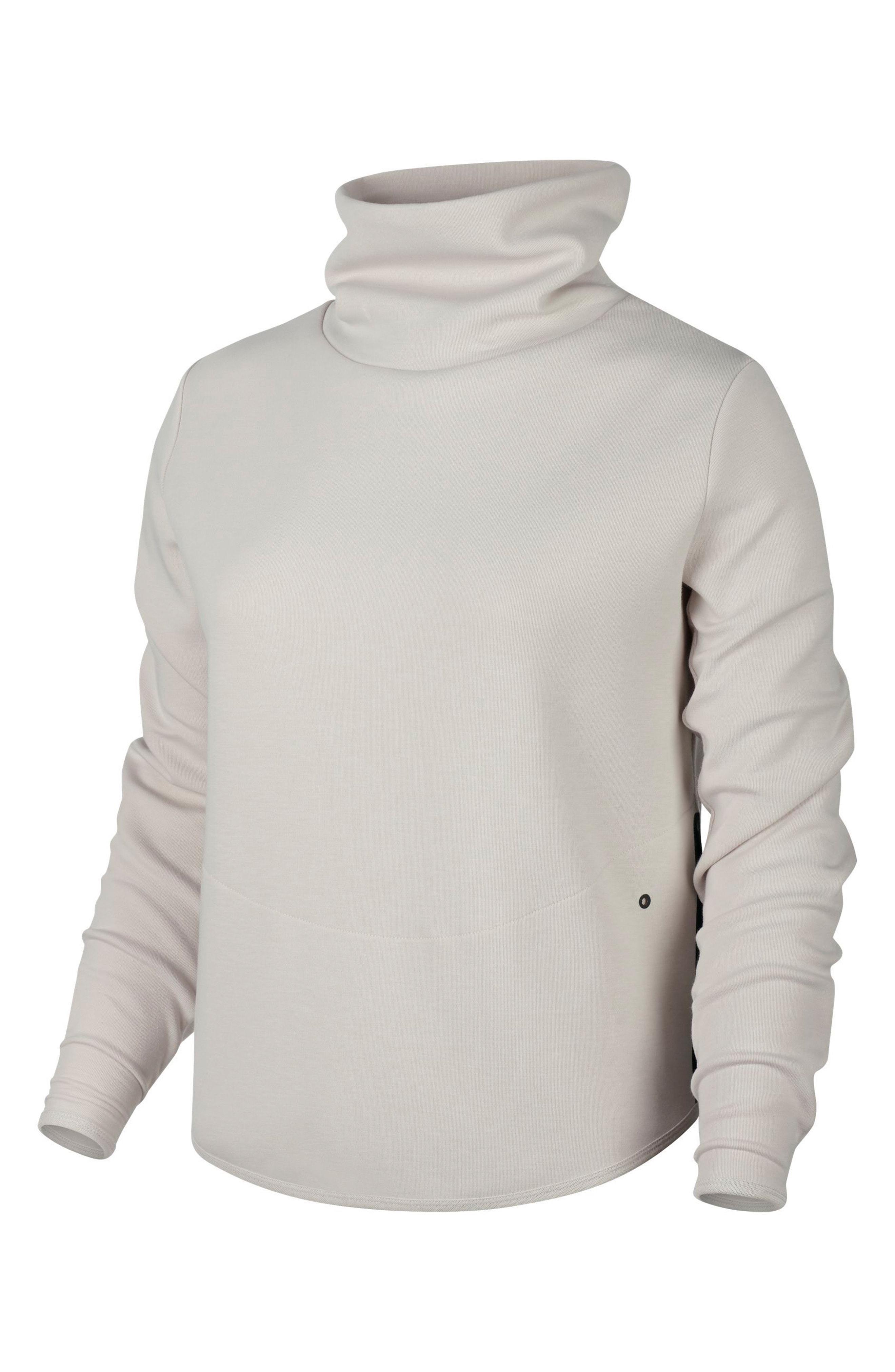 8da28ba6 Lyst - Nike Women's Thermal Pullover Training Top in Gray