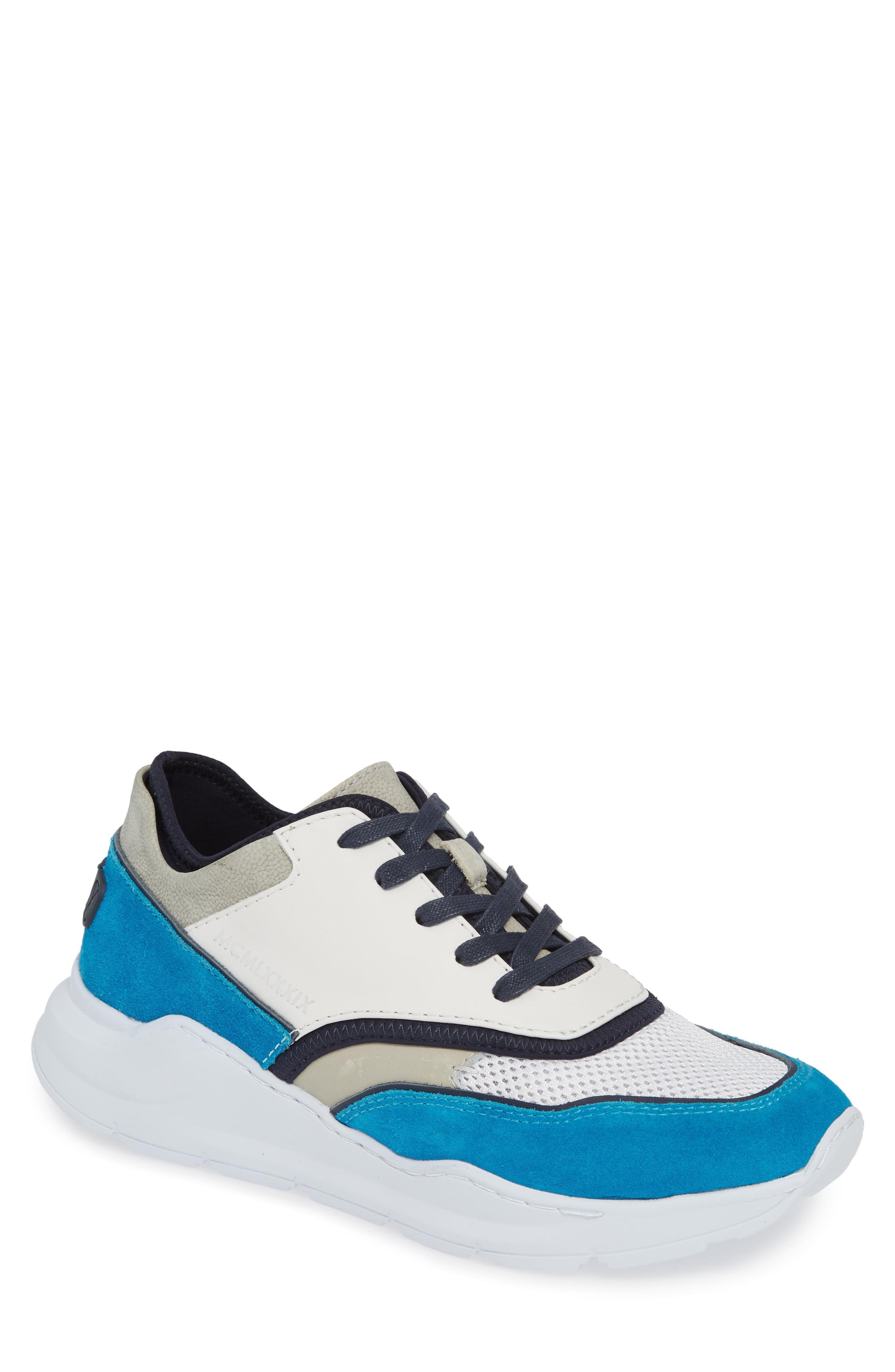 e799e327999 Lyst - Donald J Pliner Kirk Sneaker in Blue for Men