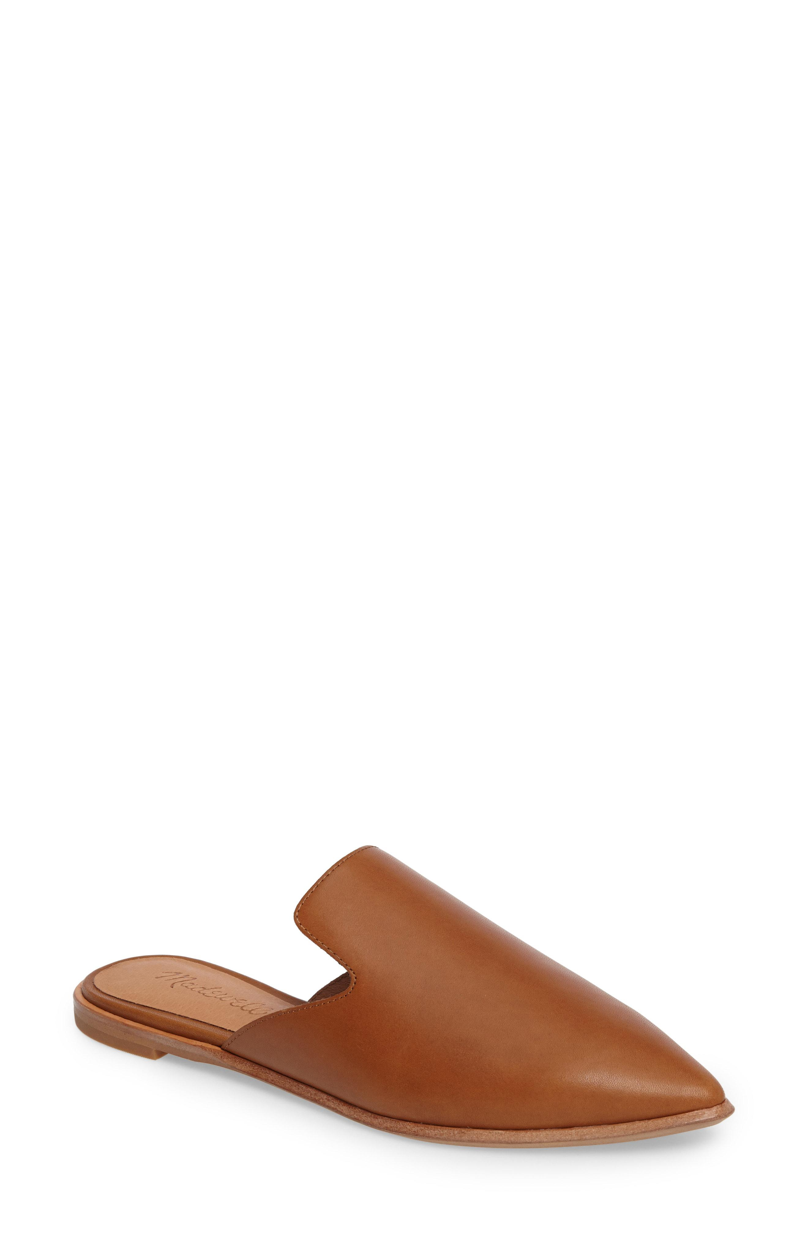 c3fc17f3197 Lyst - Madewell The Gemma Mule in Brown