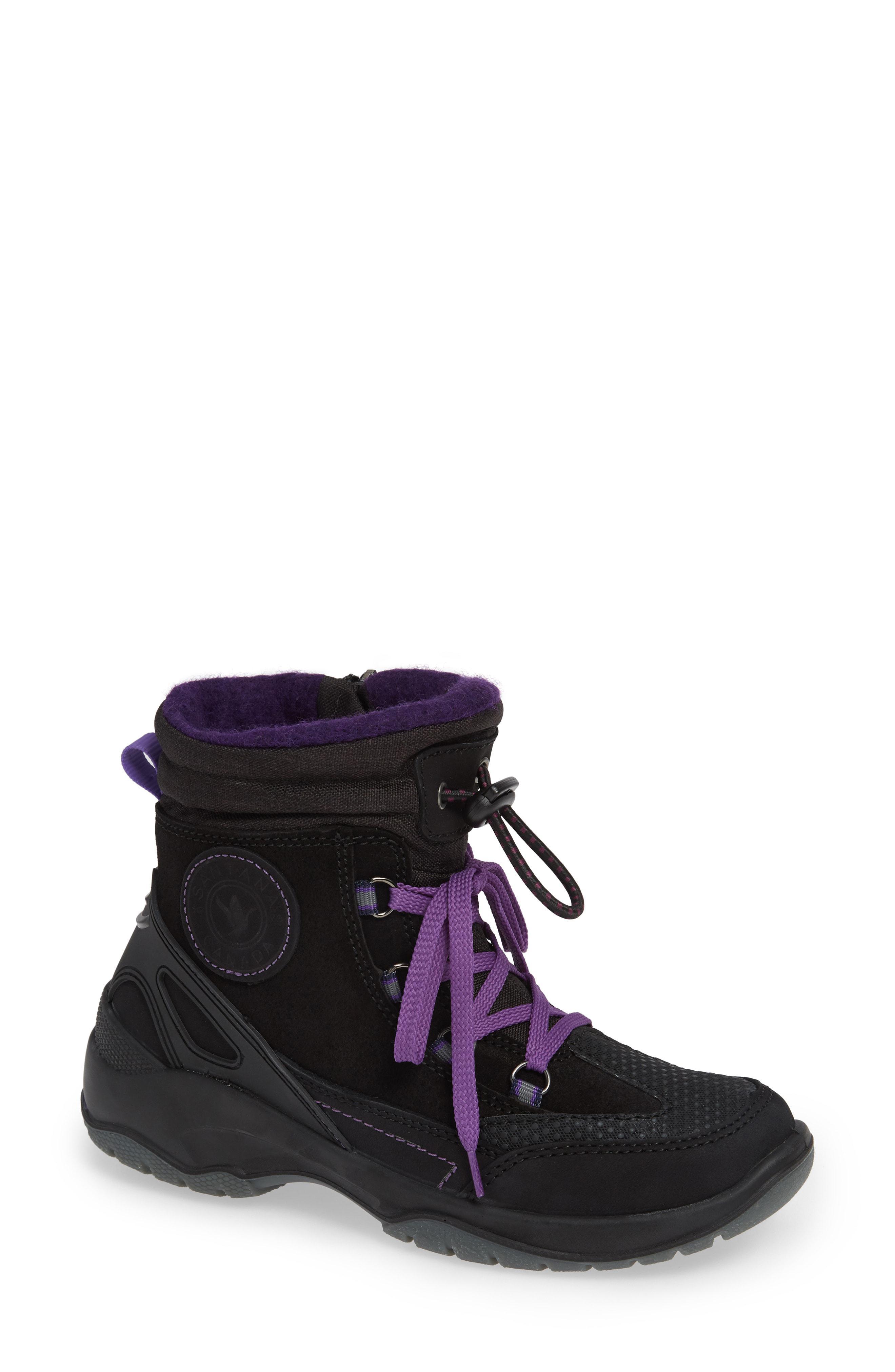 1bad86560 Santana Canada. Women's Purple Torino Waterproof Insulated Lace-up Winter  Boot