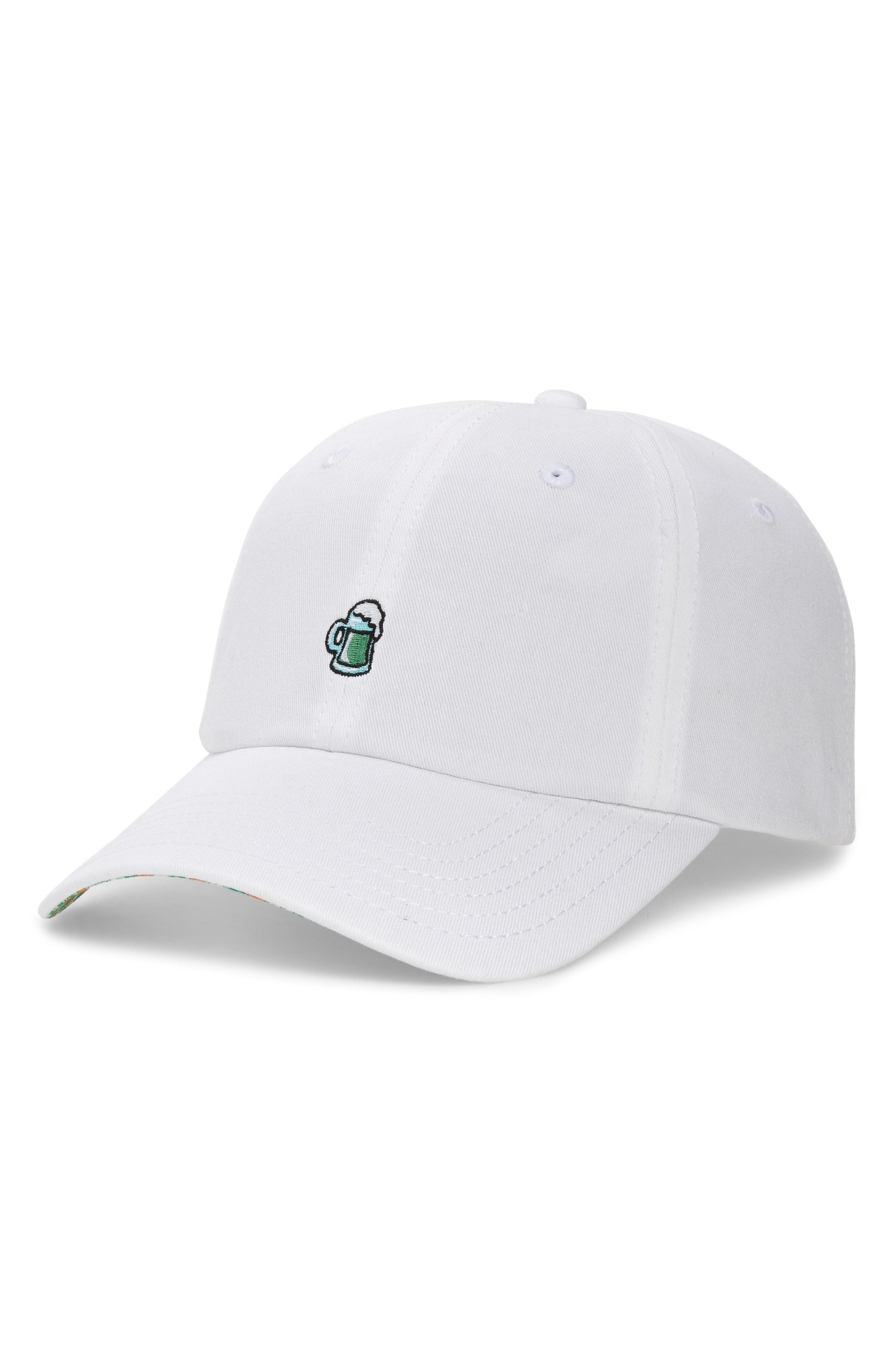 Lyst - Vineyard Vines St. Paddy s Day Twill Ball Cap - in White for Men a36615039e3b