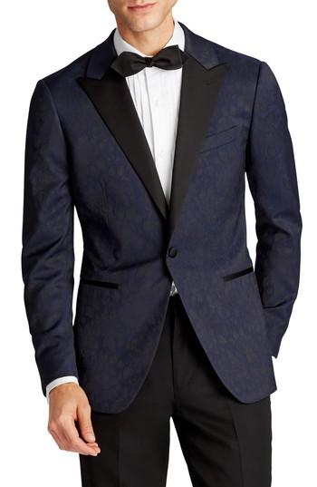 Lyst bonobos capstone slim fit stretch dinner jacket in for Dinner shirts slim fit
