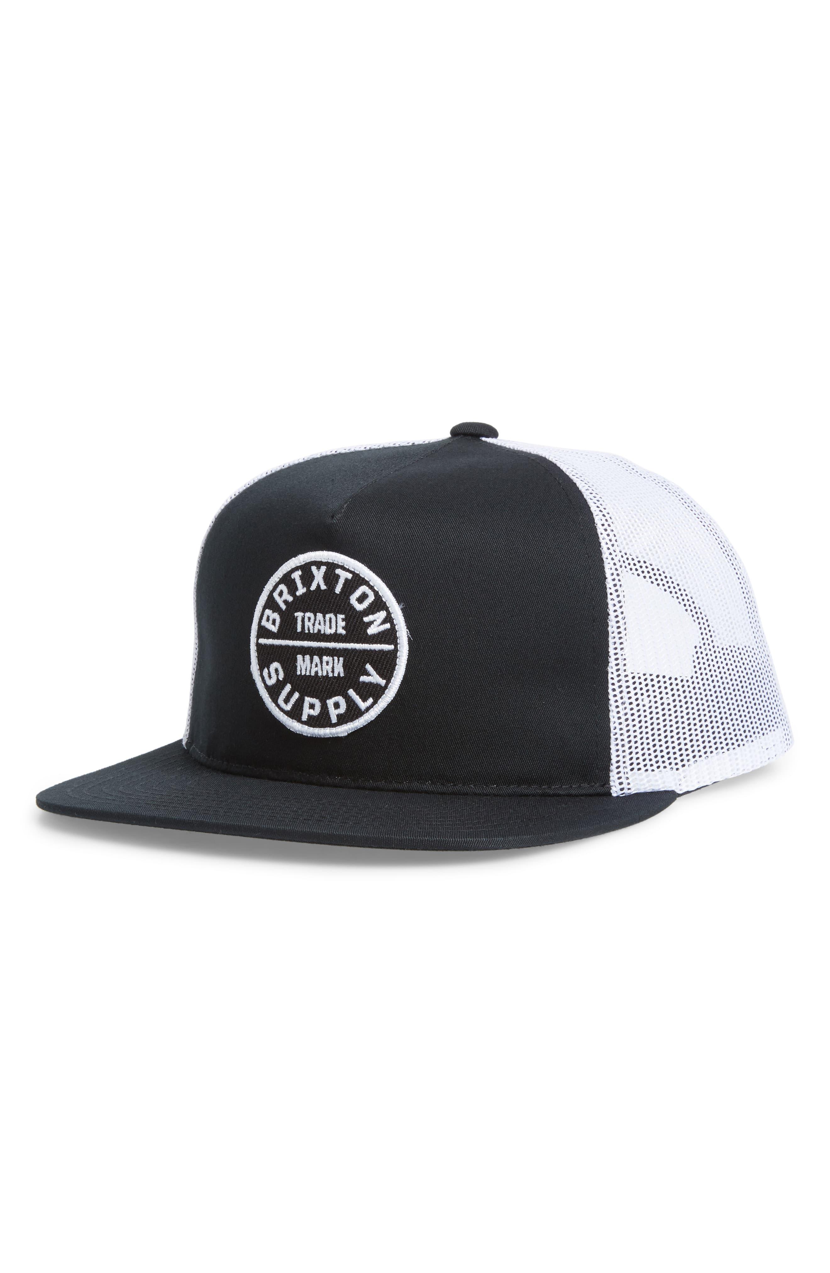 e3f453e4 Lyst - Brixton Oath Iii Trucker Hat in Black for Men - Save 57%