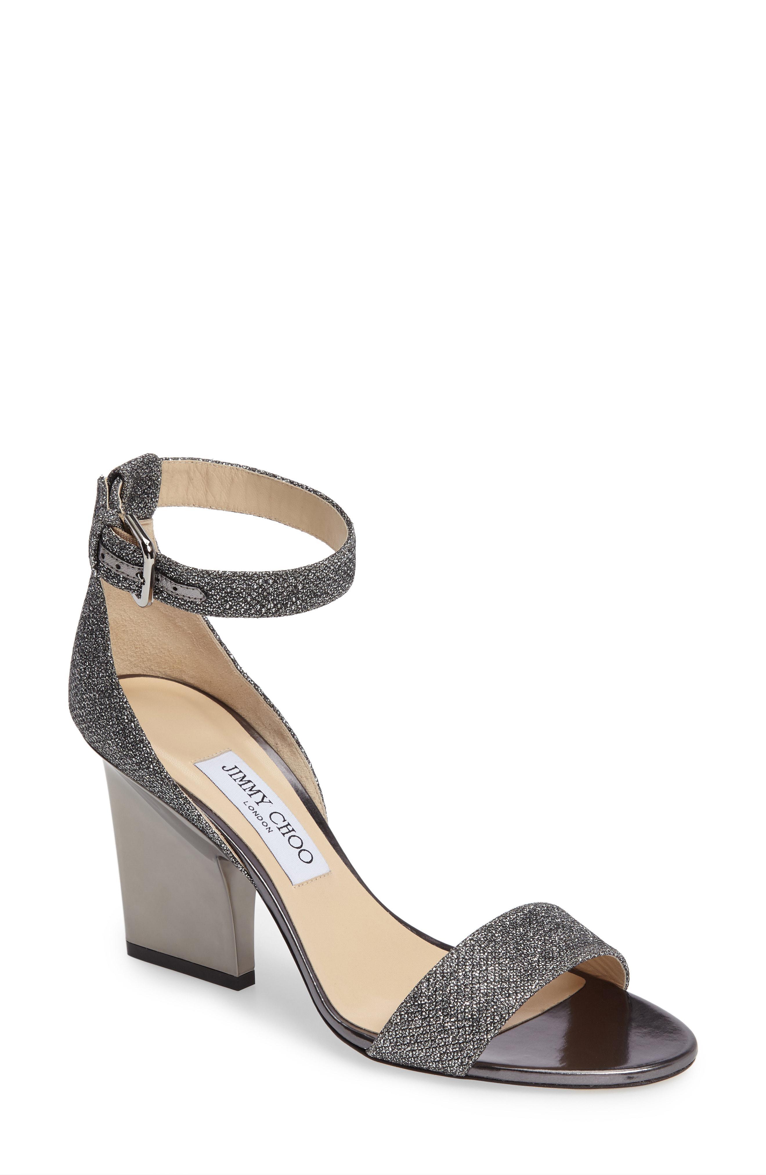 5b4c7bbb955 Lyst - Jimmy Choo Edina Ankle Strap Sandal