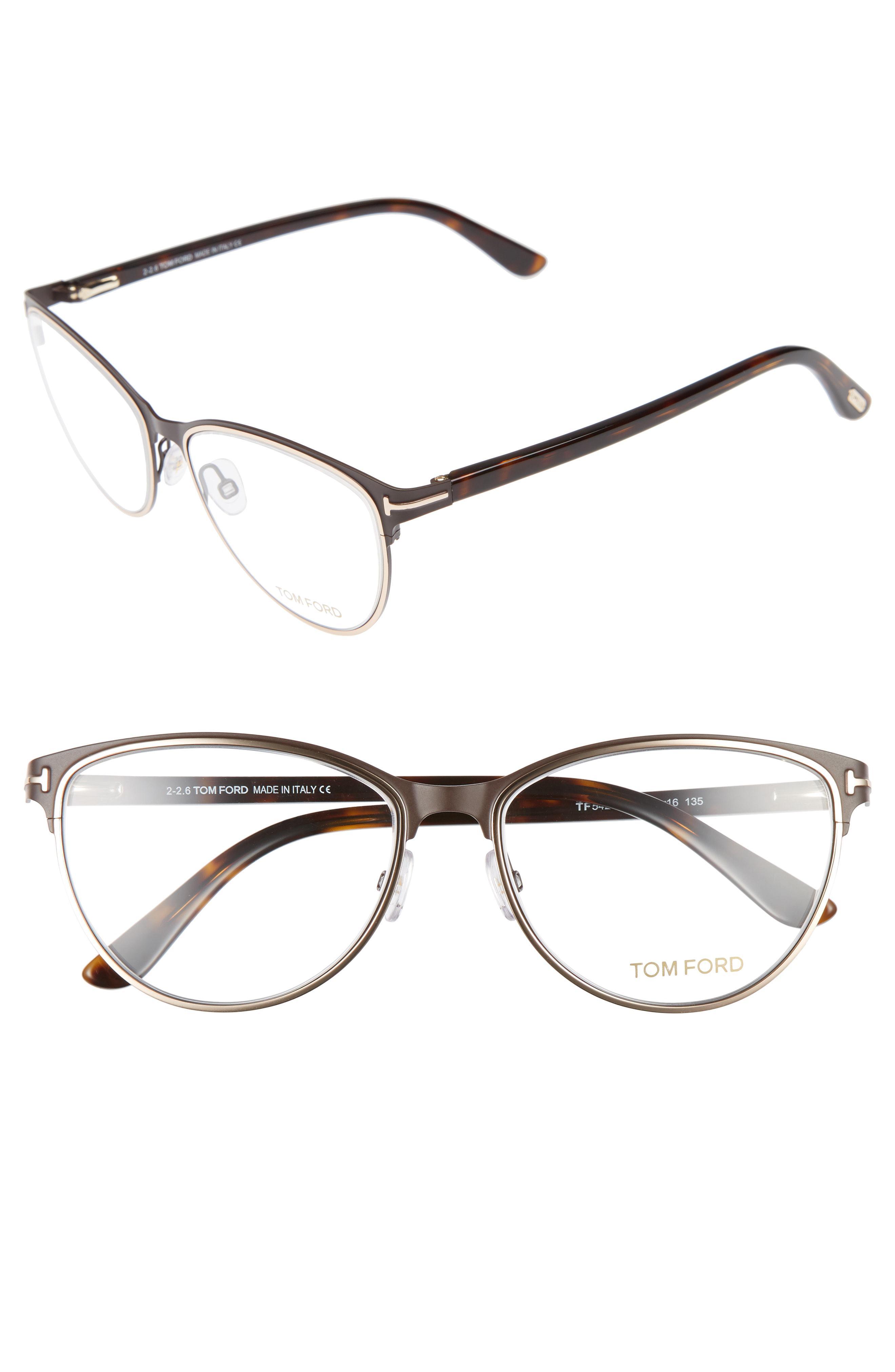 a425e9b273e Tom Ford - Multicolor 54mm Optical Glasses - - Lyst. View fullscreen