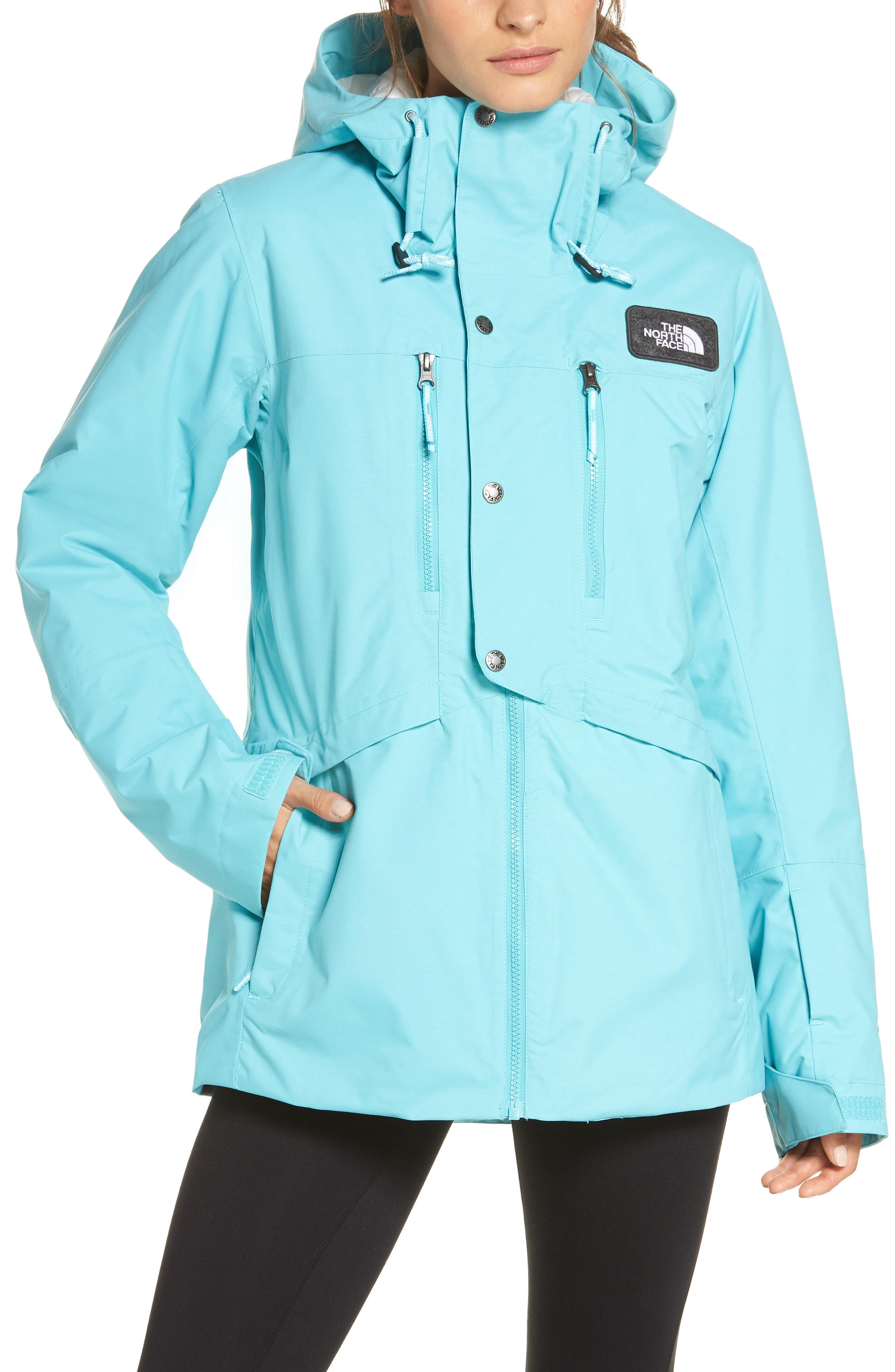ce3c38f927e The North Face Superlu Weatherproof Hooded Ski Jacket in Blue - Lyst