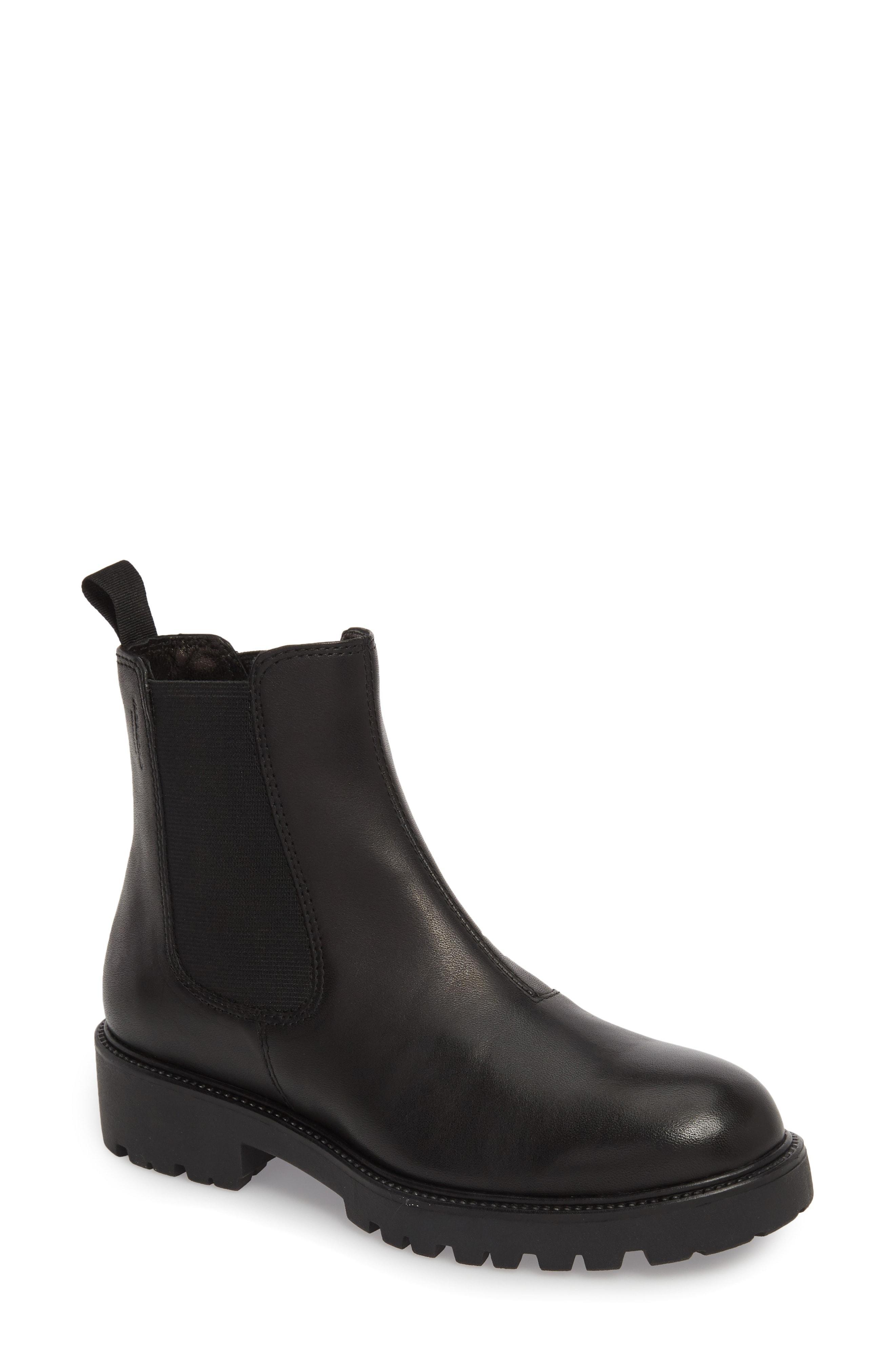 565a96e3a8a Vagabond Kenova Lugged Chelsea Boot in Black - Lyst