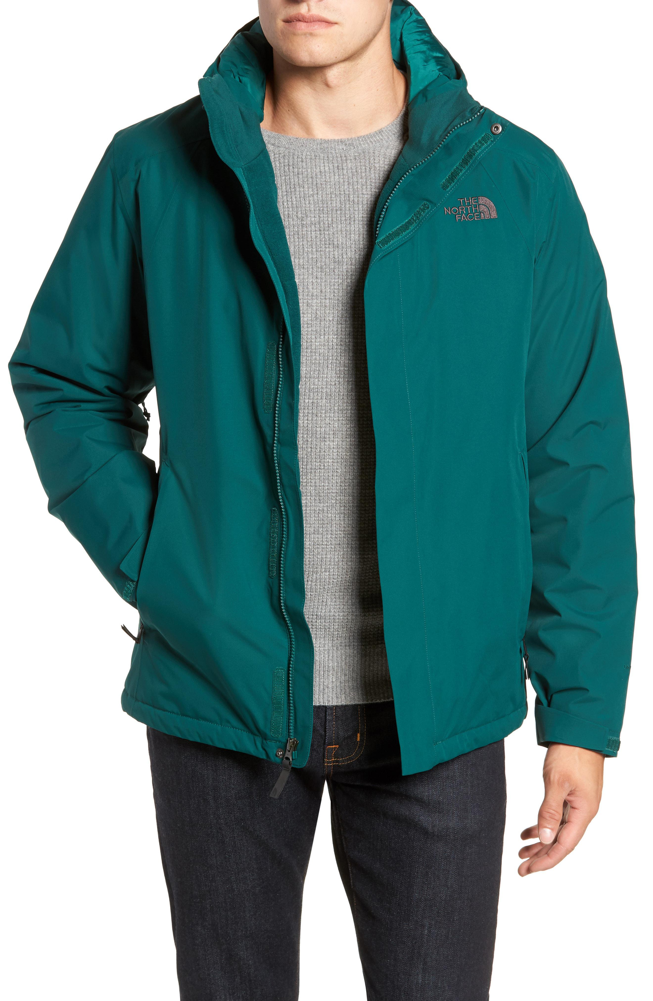 58f4cef53ea7 Lyst - The North Face  inlux  Hooded Jacket in Green for Men