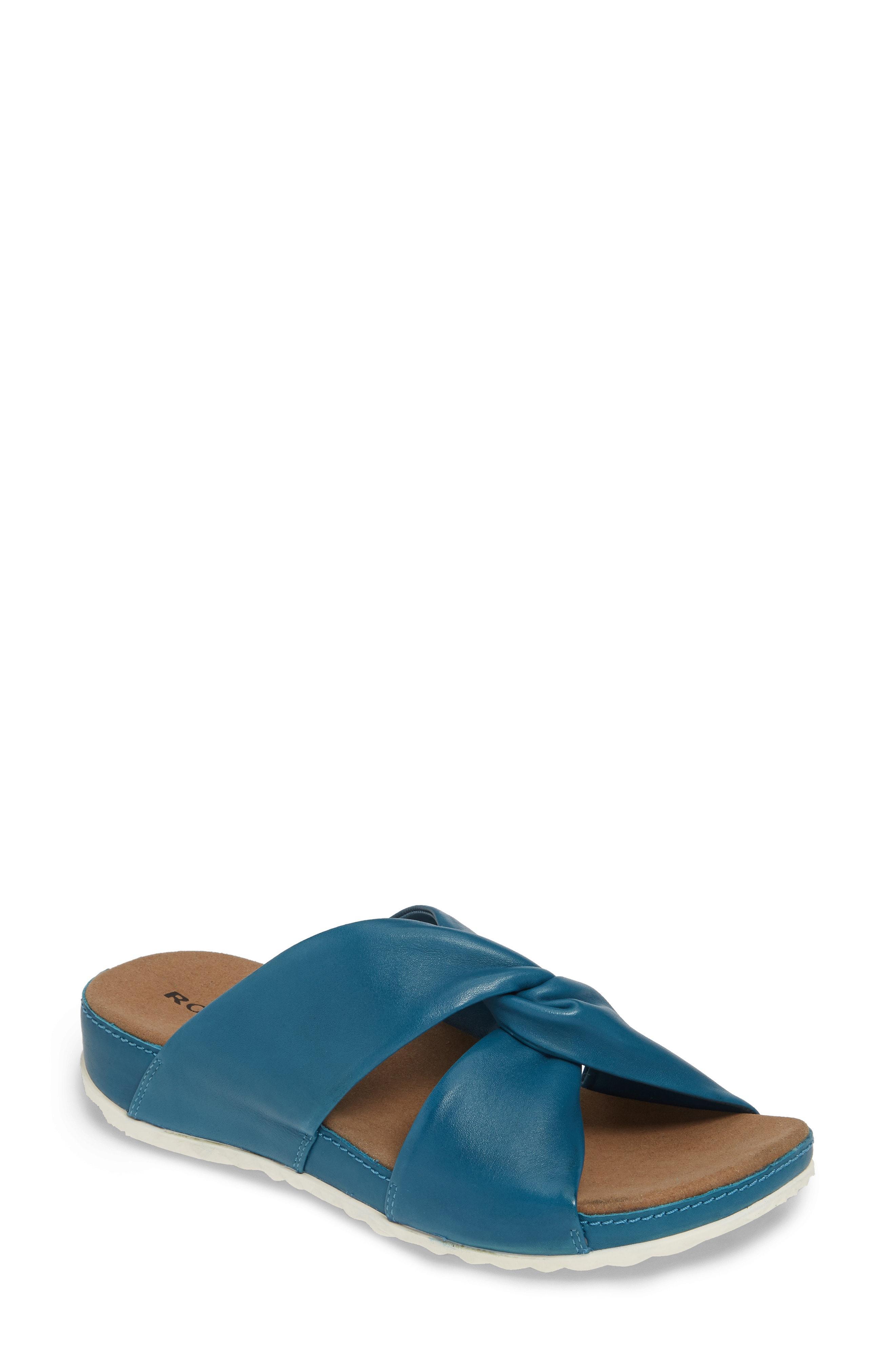 0e3cda46aff1 Lyst - Romika Romika Florenz 10 Slide Sandal in Blue