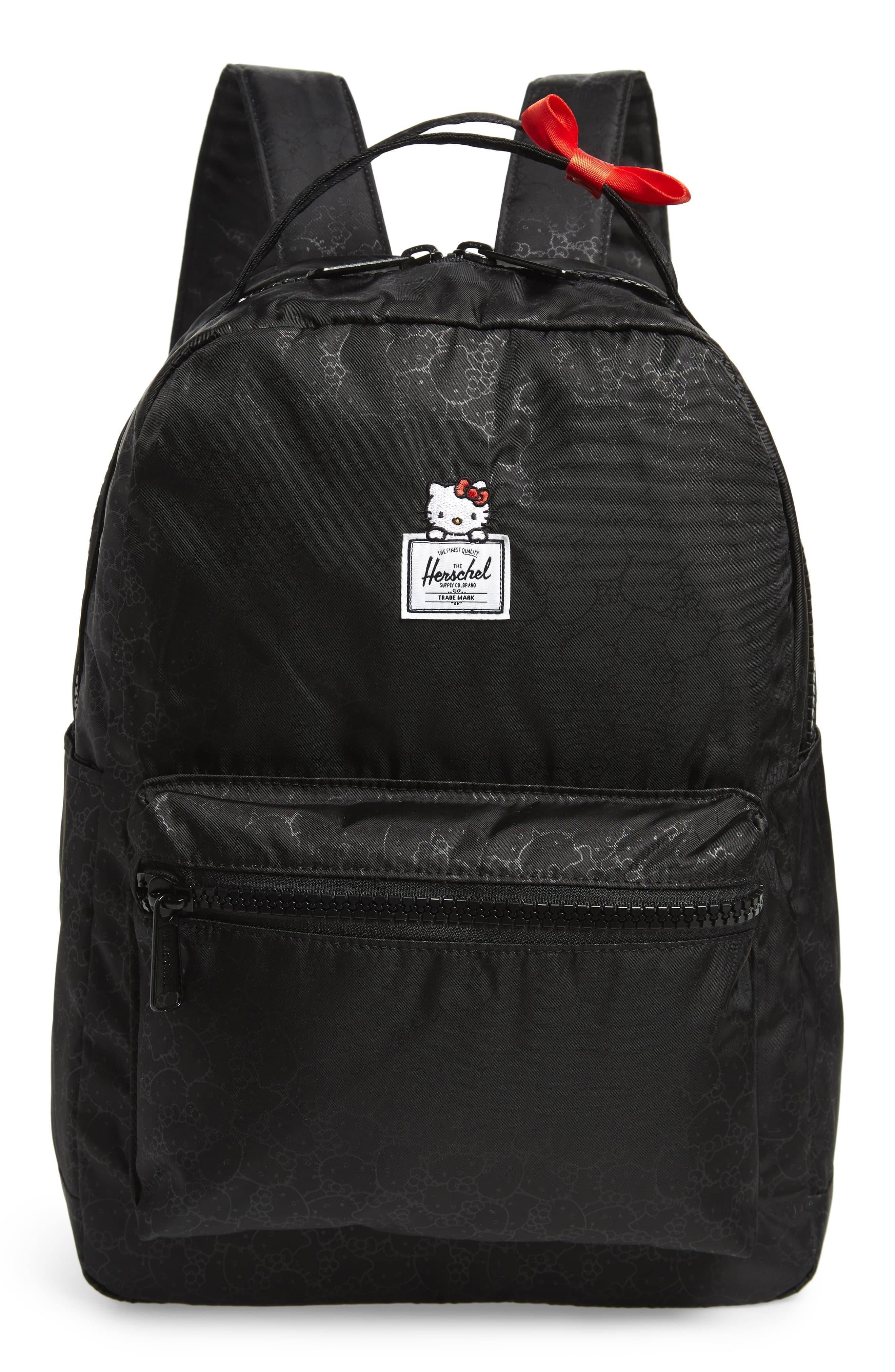748f3dace Herschel Supply Co. X Hello Kitty Nova Mid Volume Backpack in Black ...