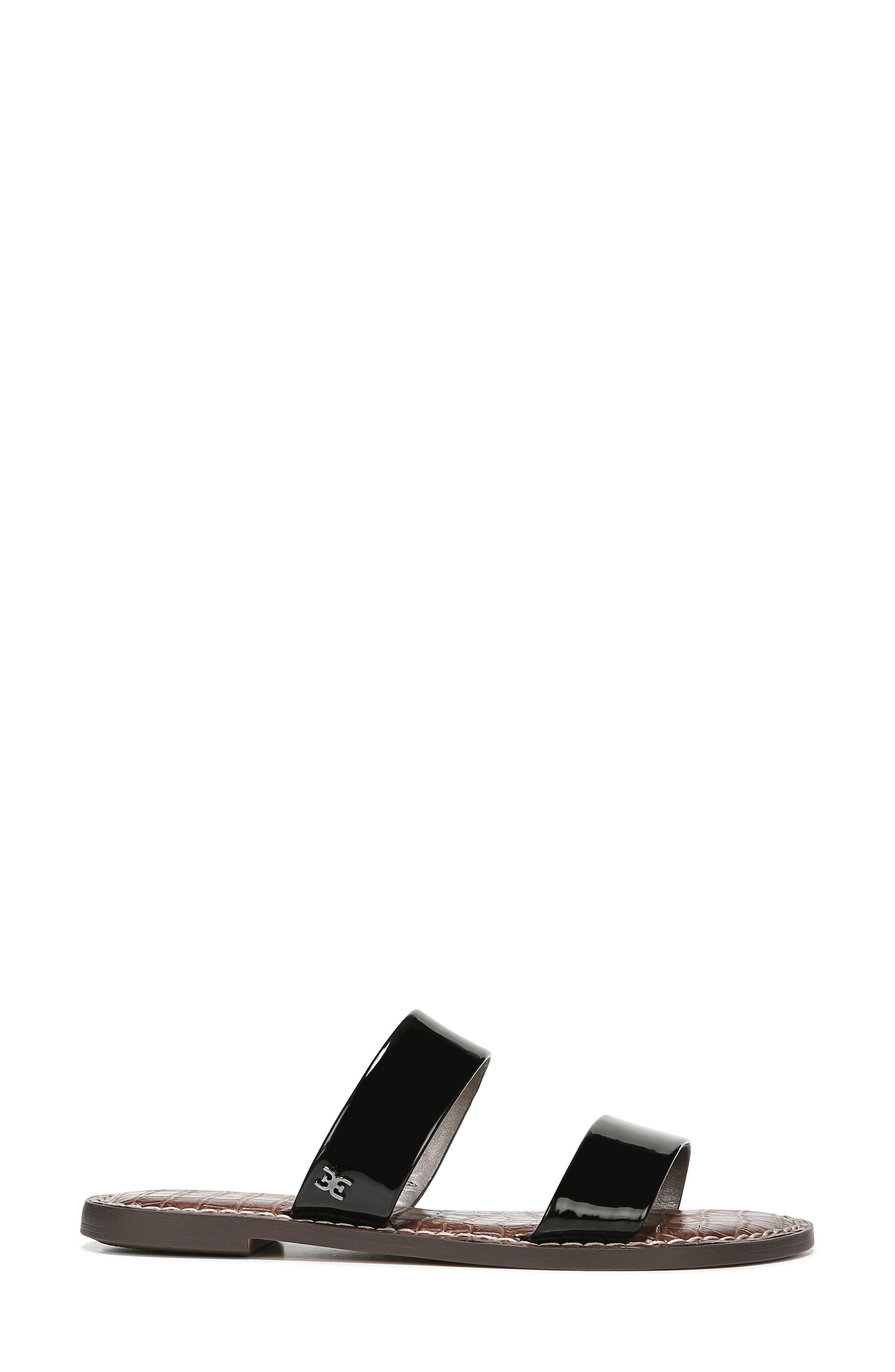 7bcb41d17 Sam Edelman - Black Women s Gala Slide Sandals - Lyst. View fullscreen