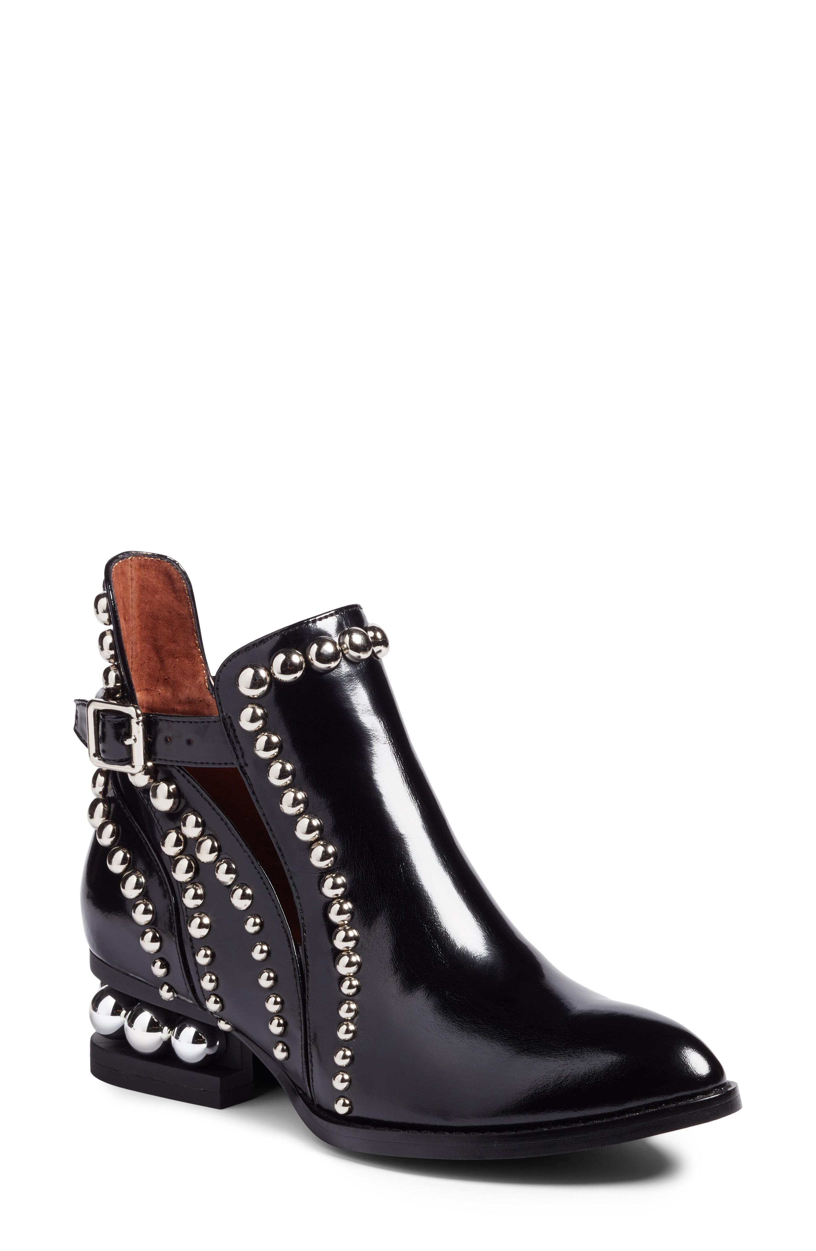 053556eda7d Jeffrey Campbell - Black Rylance Studded Boots - Lyst. View fullscreen
