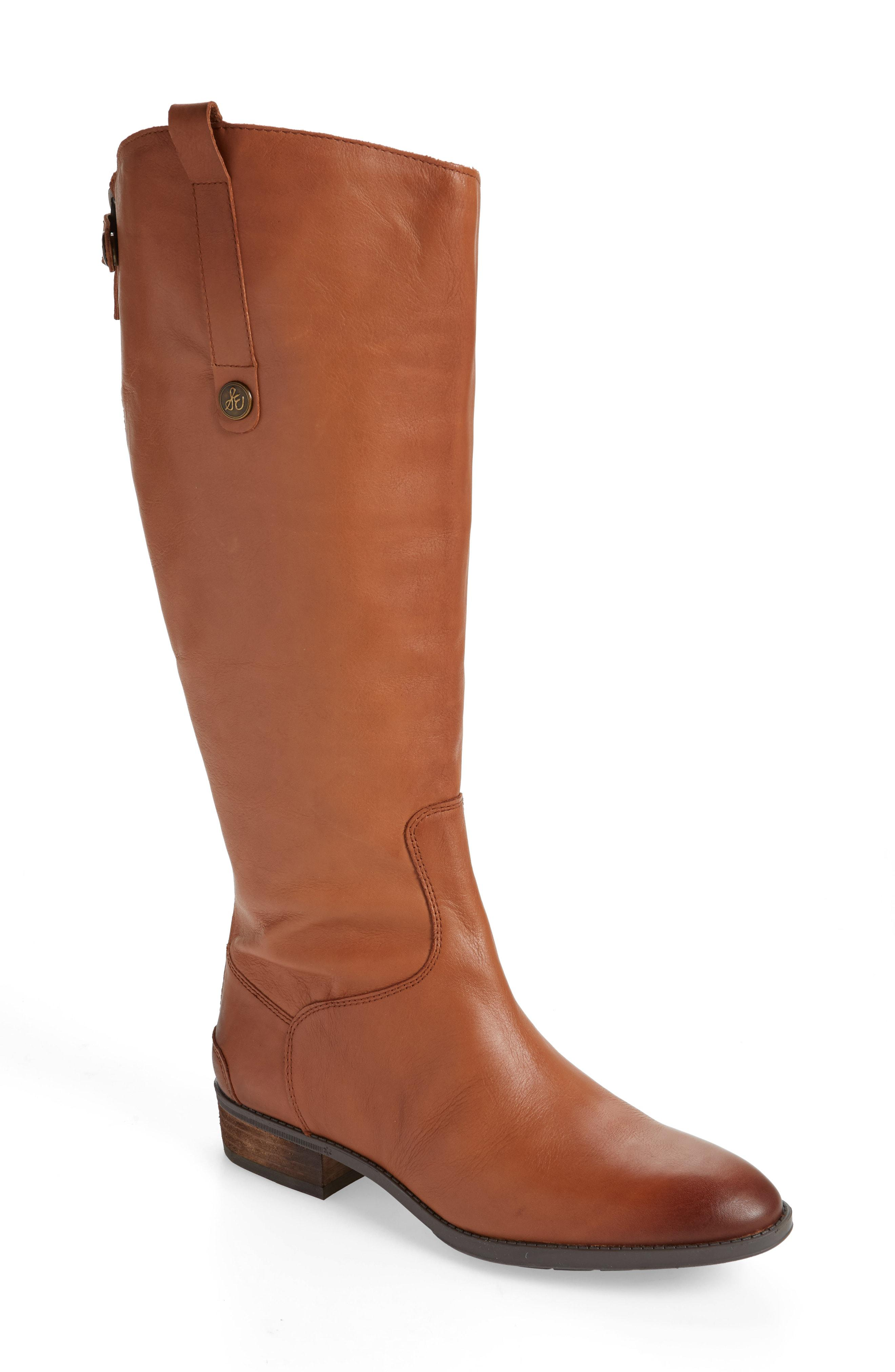 e4ef9f7743e0b Lyst - Sam Edelman Penny Boot in Brown