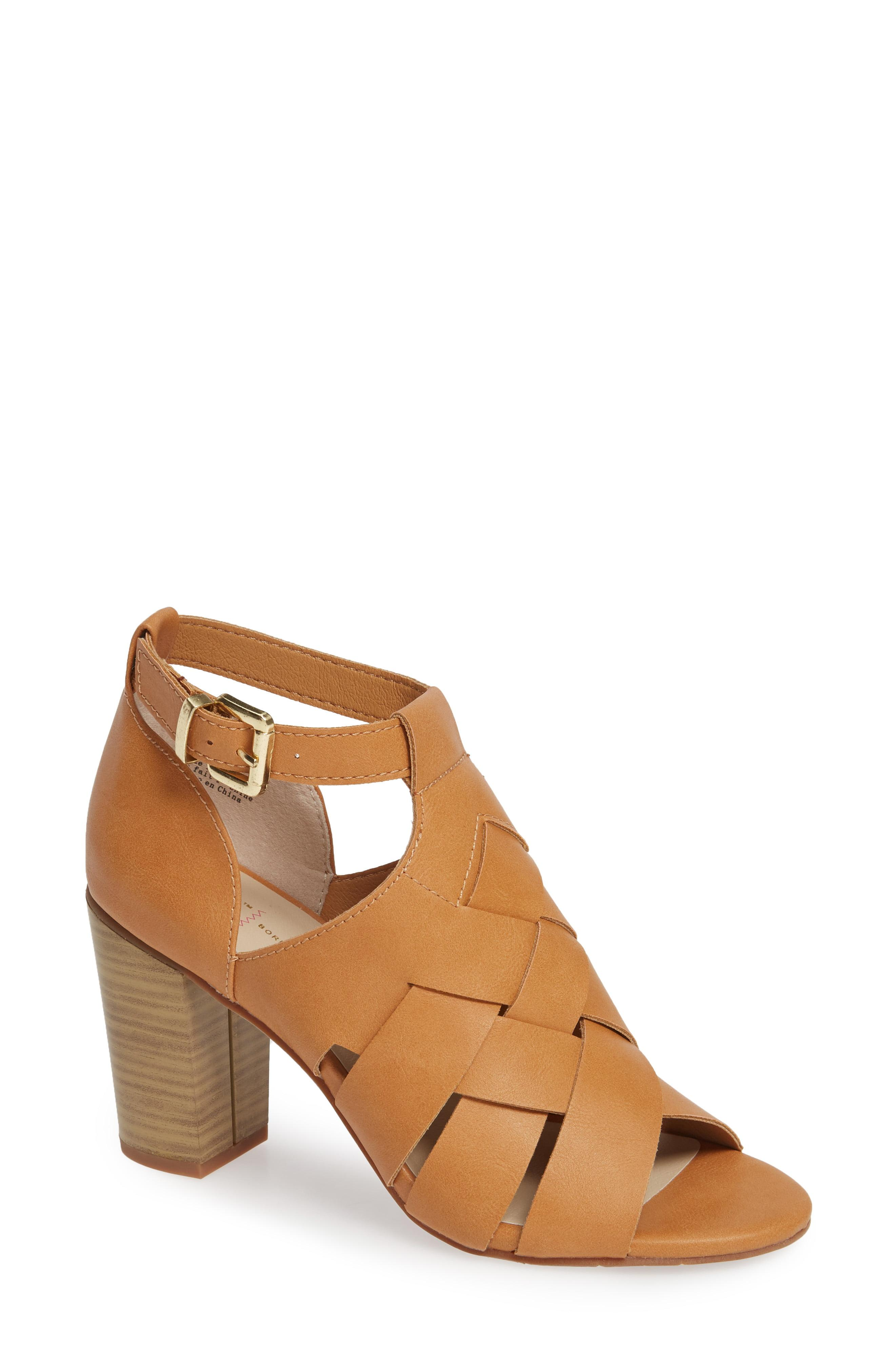 d03fae2264d5 Lyst - BC Footwear Pathway Vegan Block Heel Sandal in Brown