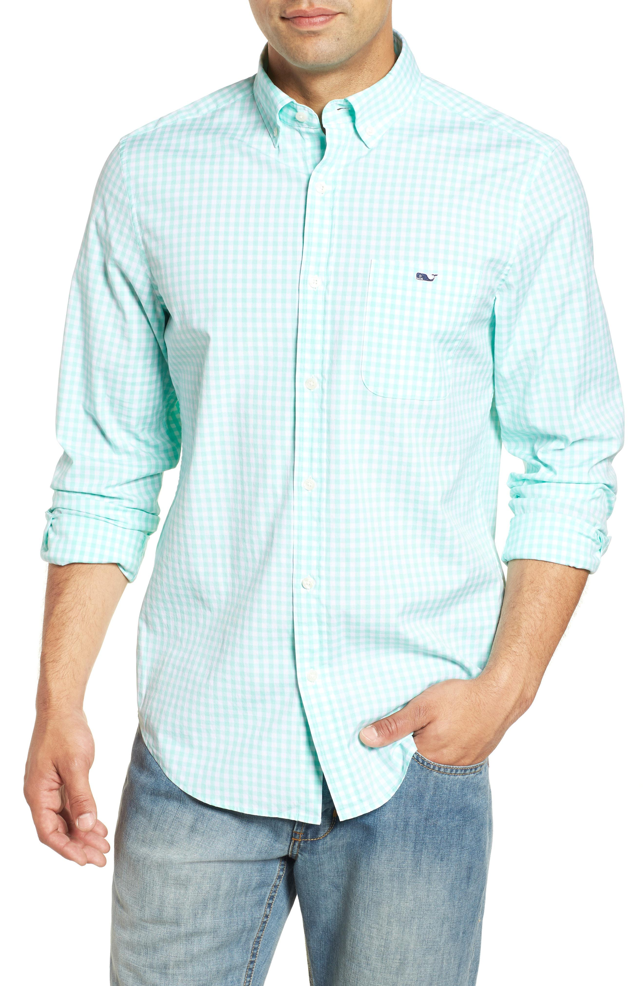 618ebe2175e Lyst - Vineyard Vines Carleton Classic Fit Gingham Sport Shirt for Men