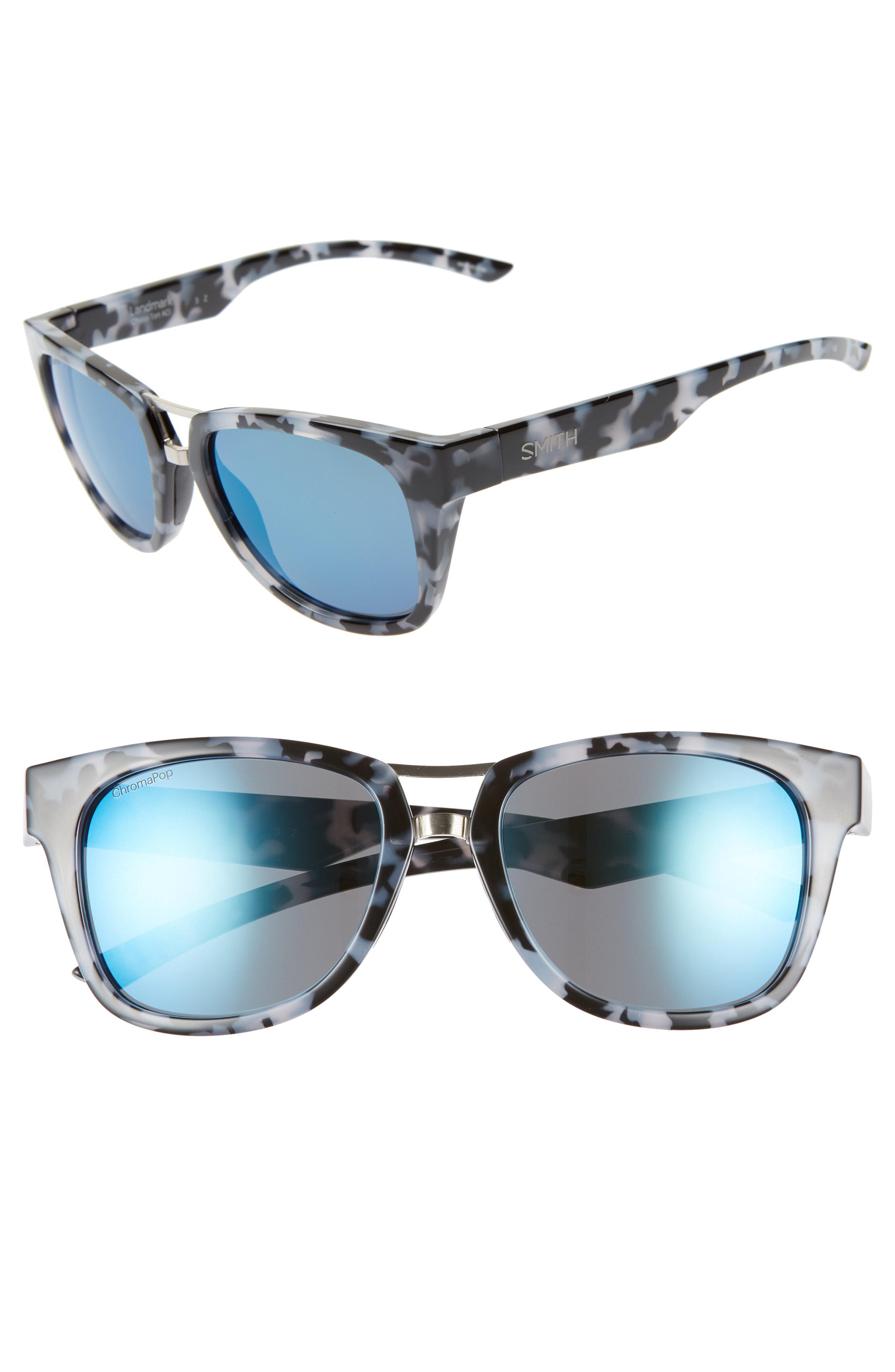 51a9d3d3c5e94 Smith Landmark 53mm Chromapop(tm) Polarized Sunglasses - Chocolate ...