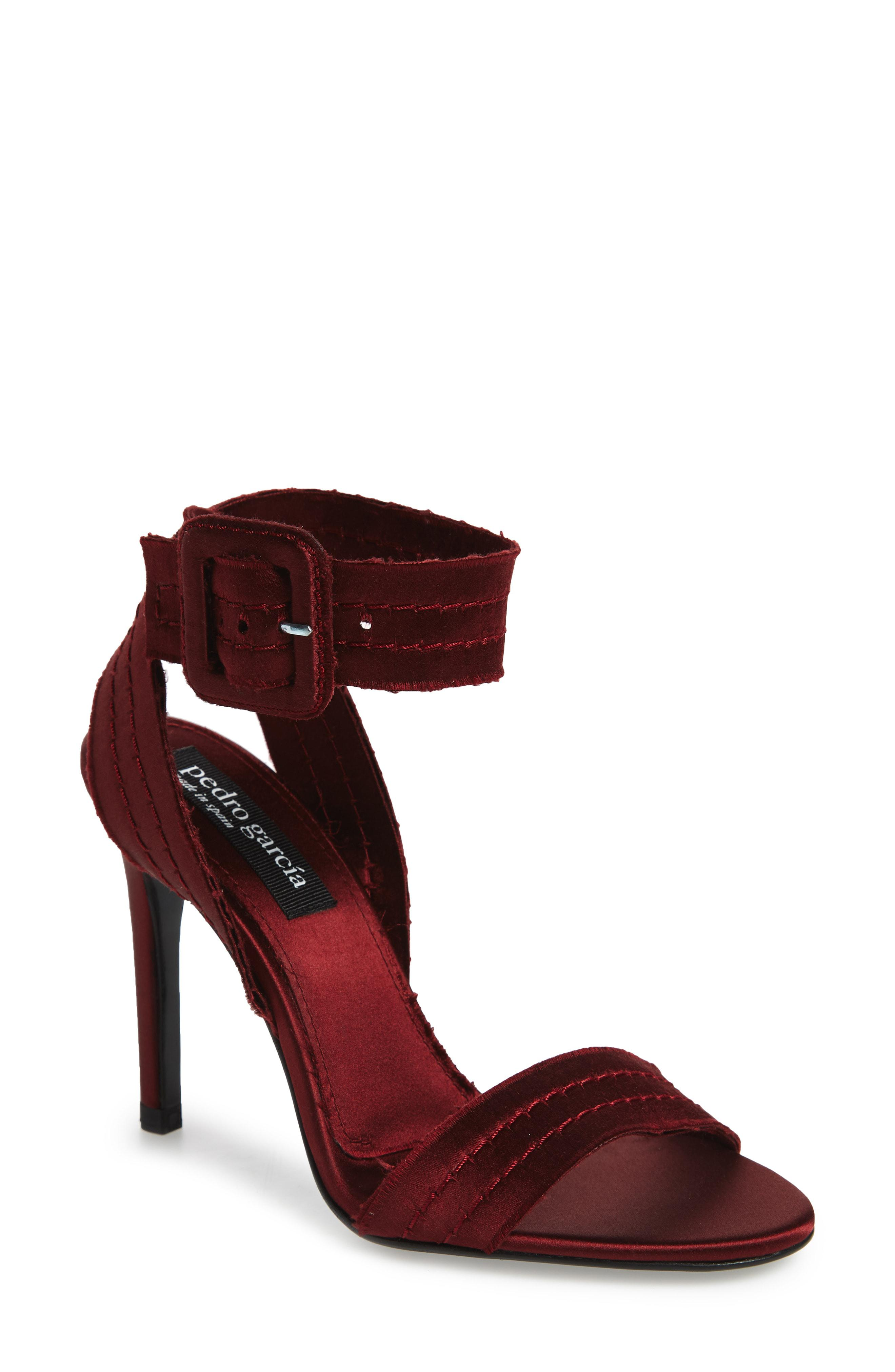 77b64a997 Lyst - Pedro Garcia Catalina Sandal in Red