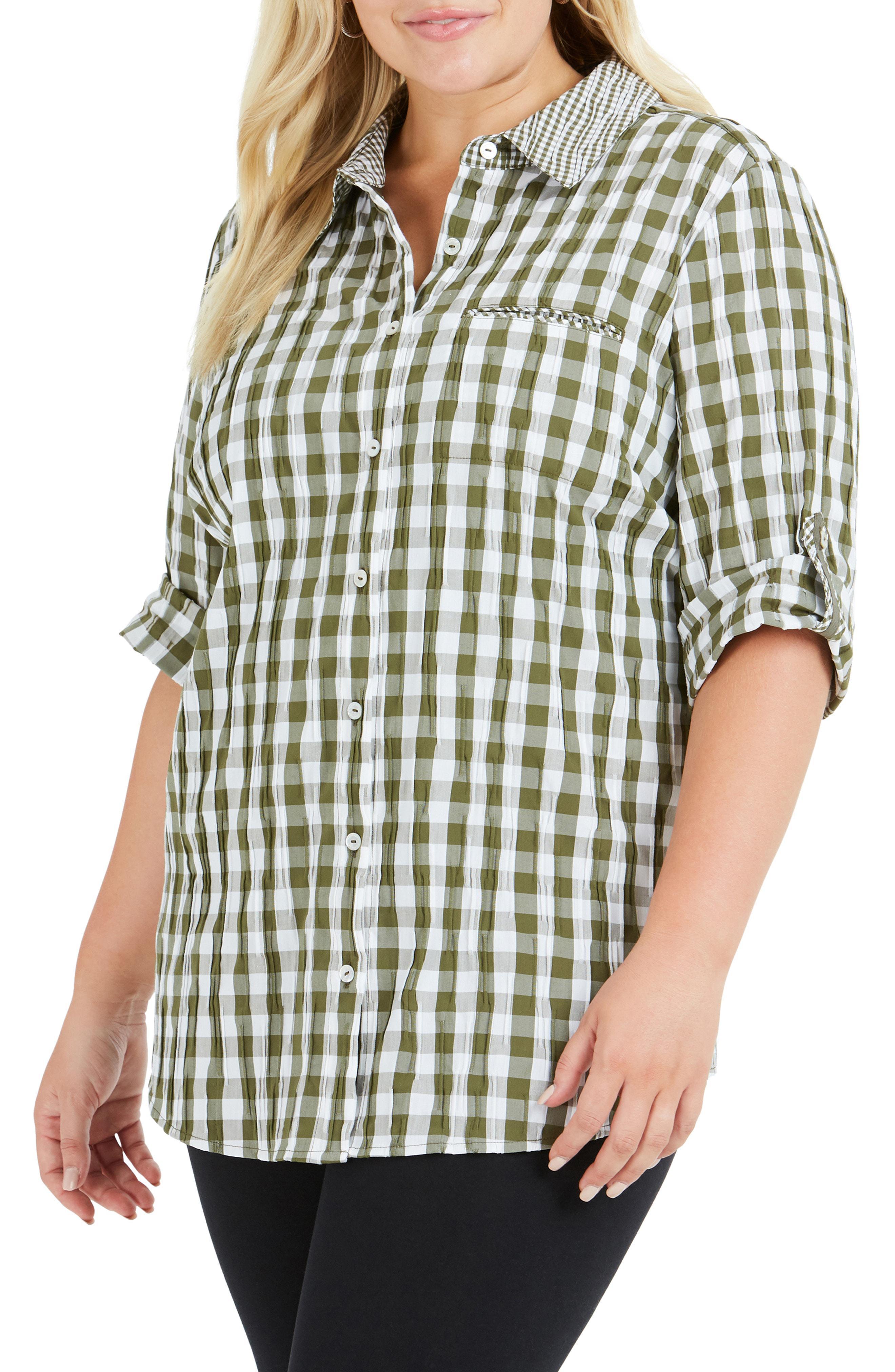 3d0b1f9b098 Foxcroft. Women s Reese Gingham Shirt