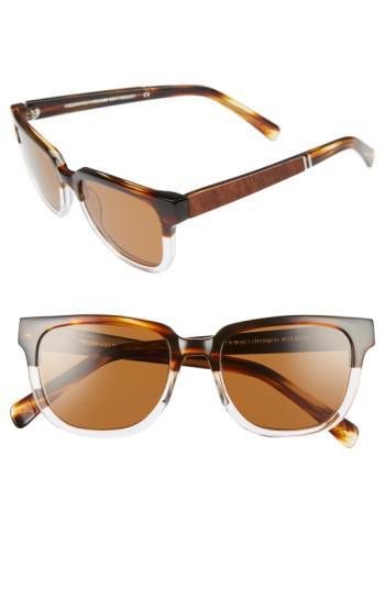 0e96f4eedc Lyst - Shwood  prescott  52mm Polarized Acetate   Wood Sunglasses ...