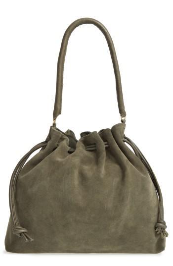 9f0430c621 Clare V. Henri Suede Bucket Bag - Lyst