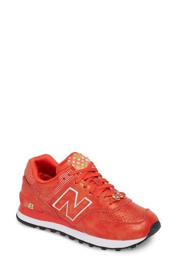 brand new 5da79 51c1e New Balance - Red X Disney 574 Sneaker - Lyst