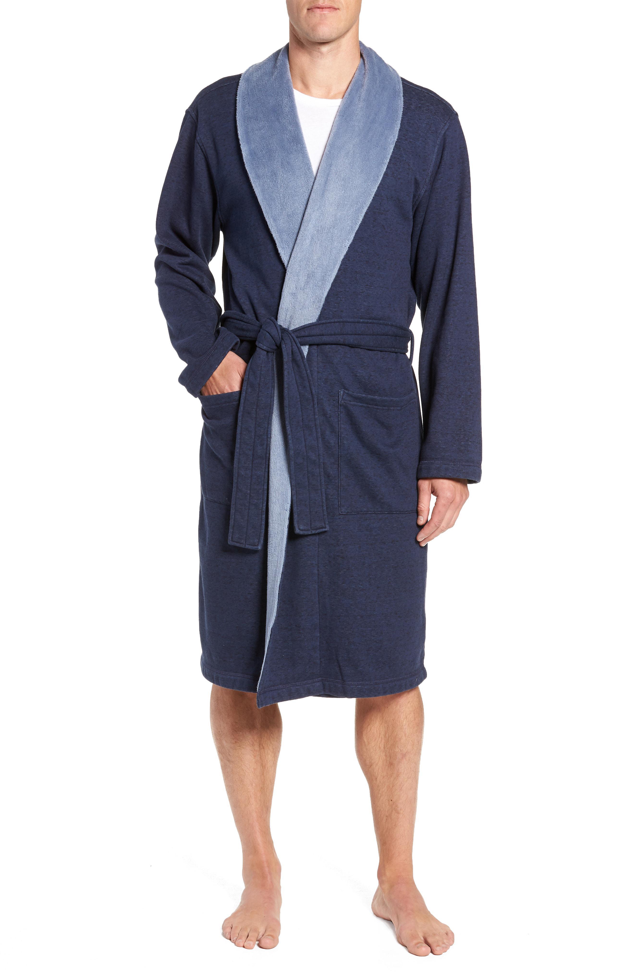 Lyst - Ugg Ugg Robinson Robe in Blue for Men 87c591ca0
