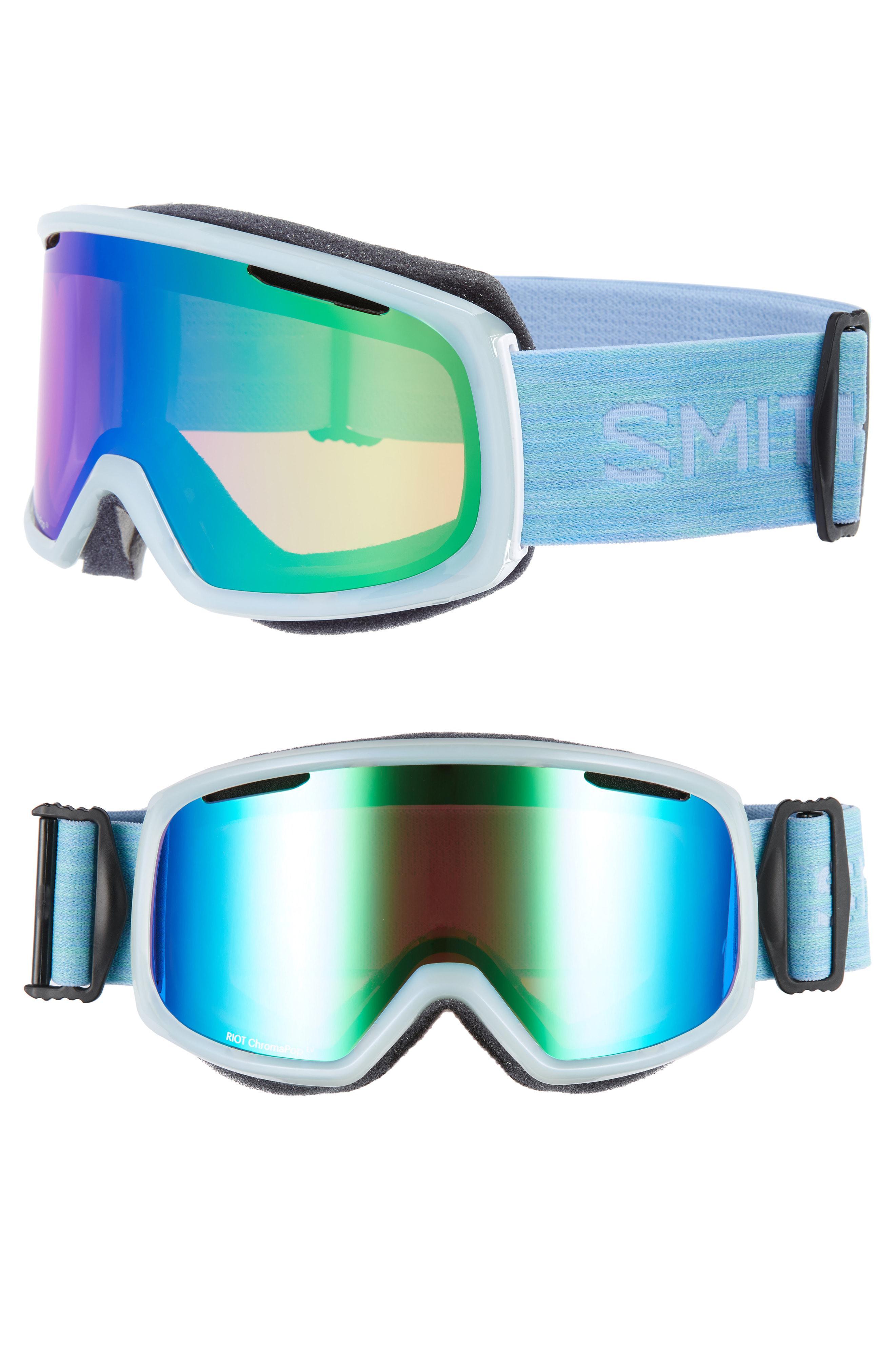 0a42222ddf Smith Riot Chromapop 180mm Snow ski Goggles - Opaline Odyssey in ...